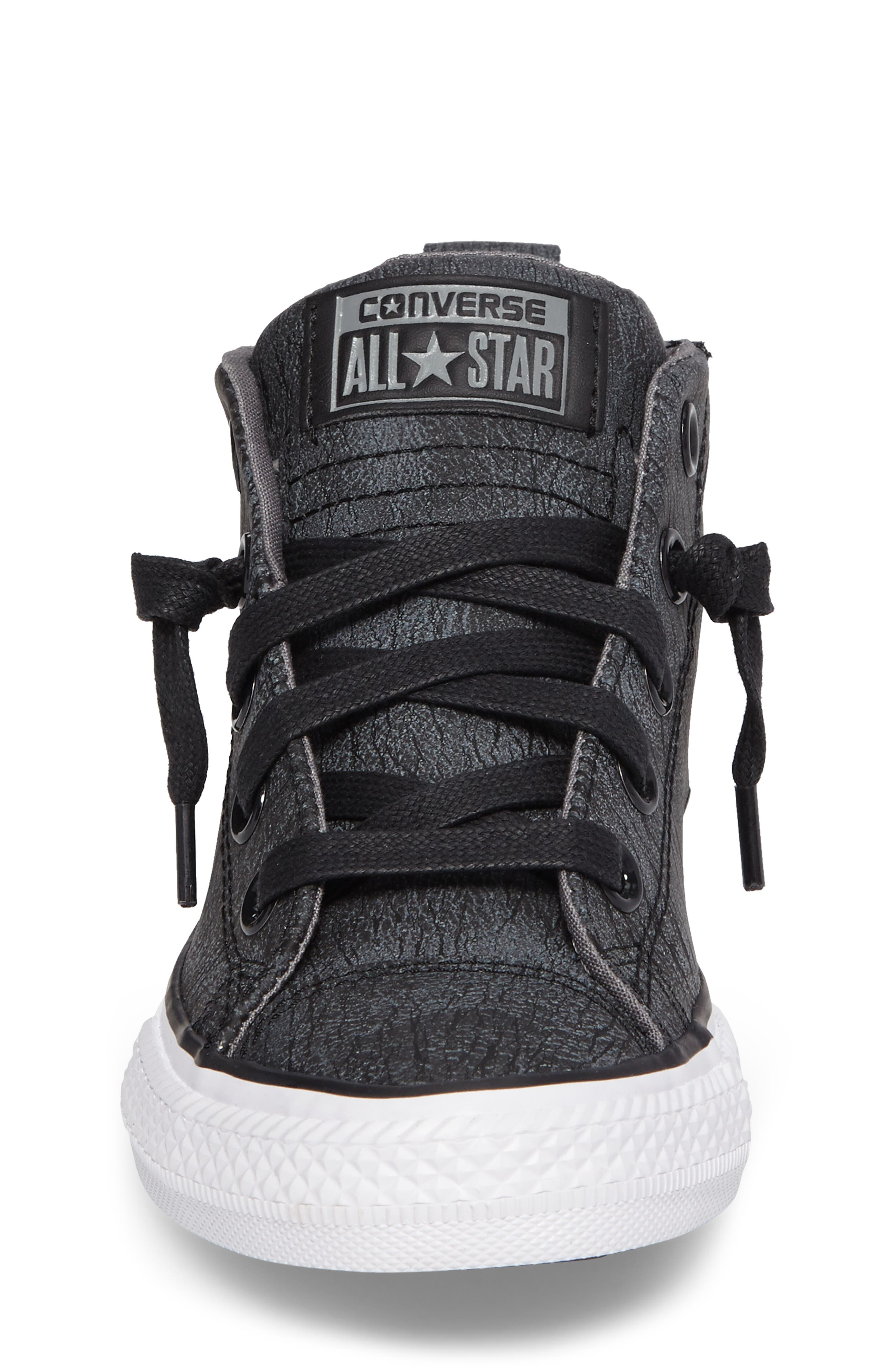 Alternate Image 4  - Converse Chuck Taylor® All Star® Street Mid Top Sneaker (Baby, Walker, Toddler, Little Kid & Big Kid)