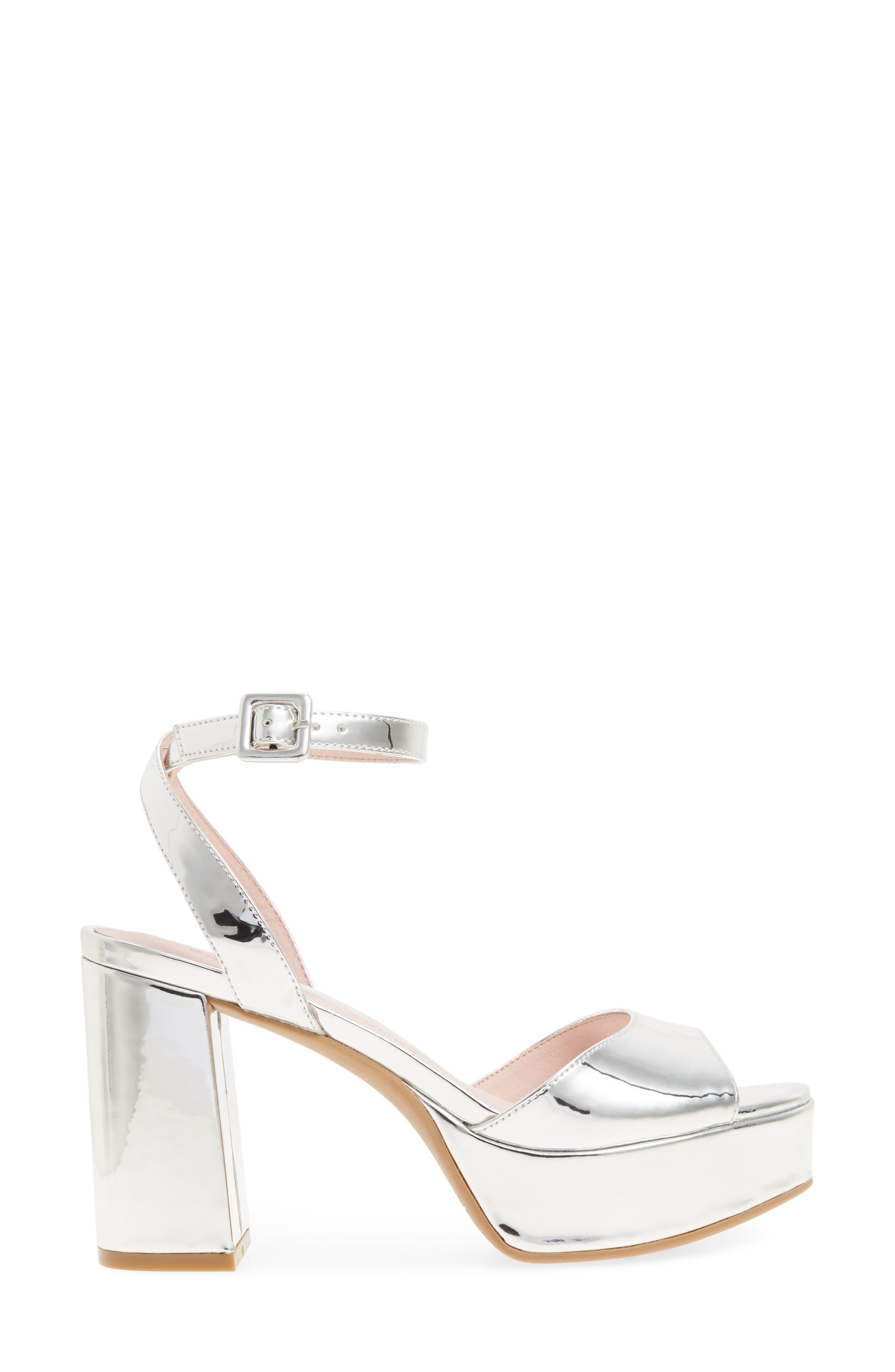 Alternate Image 3  - Chinese Laundry Theresa Metallic Platform Sandal (Women)