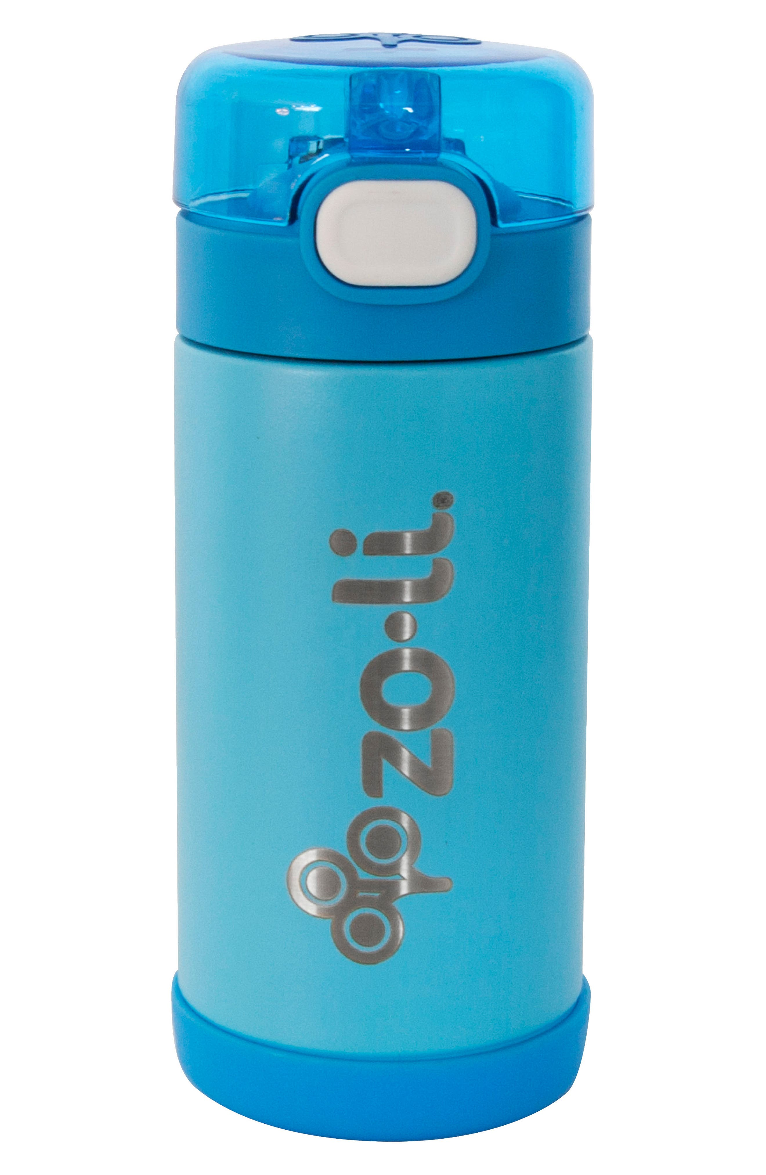 POW Squeak 10-Ounce Insulated Stainless Steel Water Bottle,                         Main,                         color, Blue