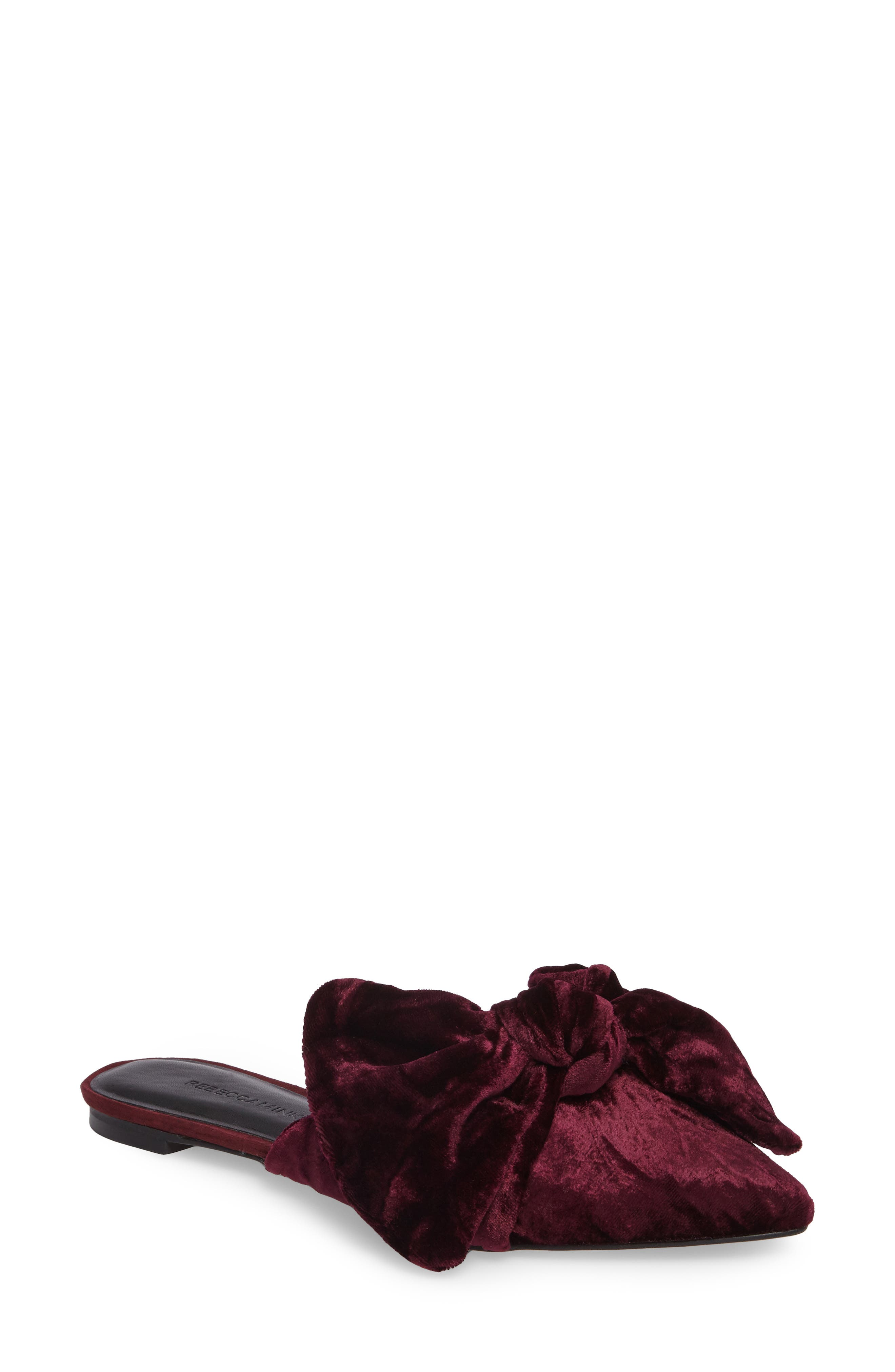 Alternate Image 1 Selected - Rebecca Minkoff Alexis Bow Mule (Women)
