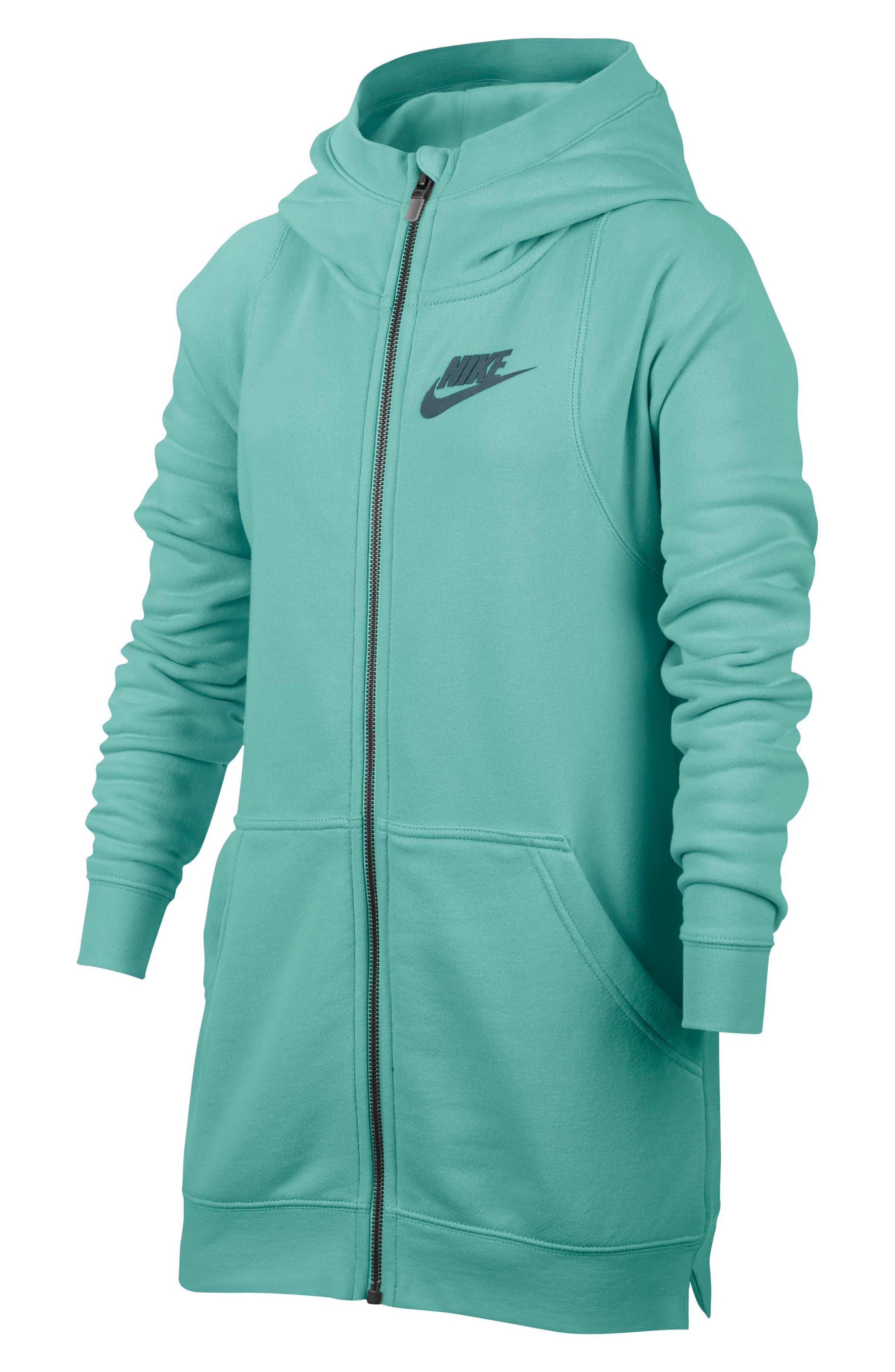Nike Modern Full Zip Hoody (Big Girls)