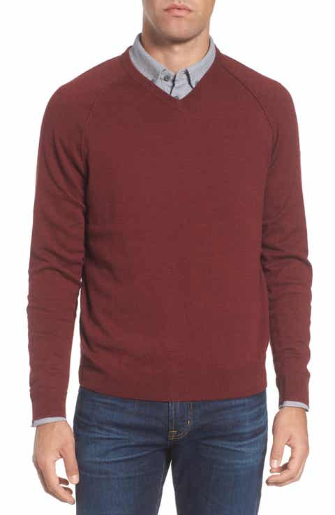 burgundy sweaters for men | Nordstrom