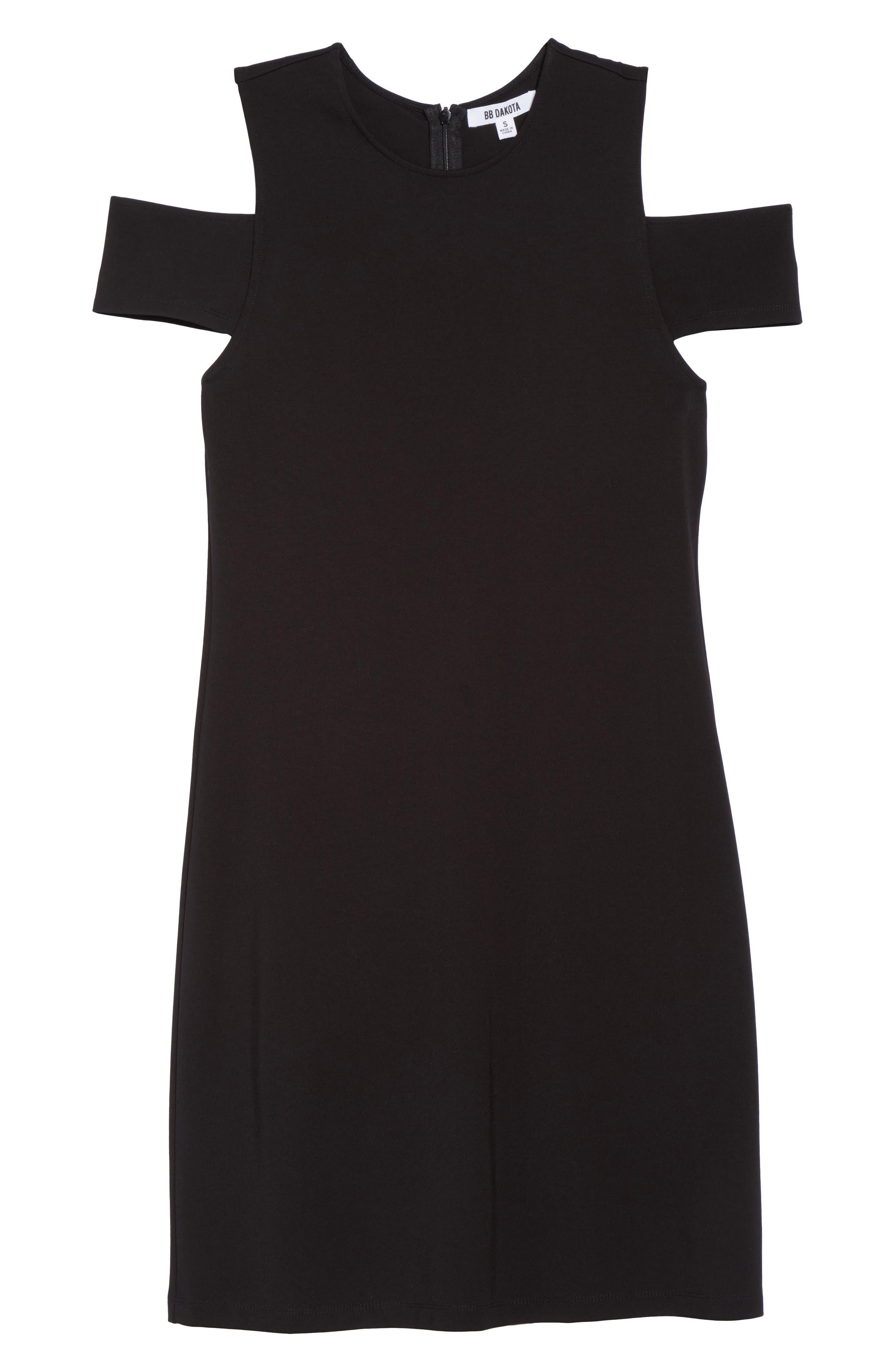 Alternate Image 6  - BB Dakota Cold Shoulder Sheath Dress