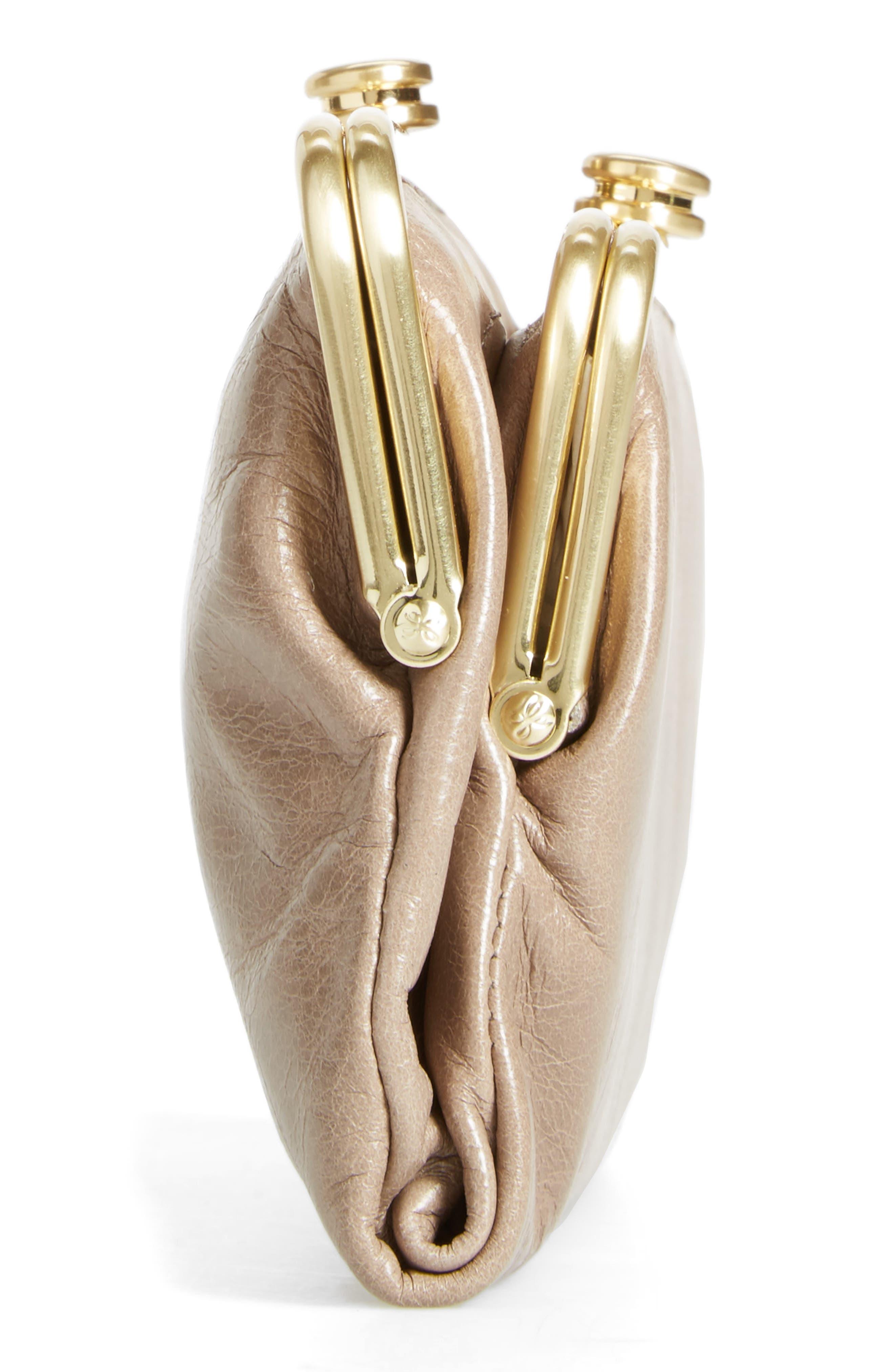 Alternate Image 4  - Hobo Suzette Calfskin Leather Wallet