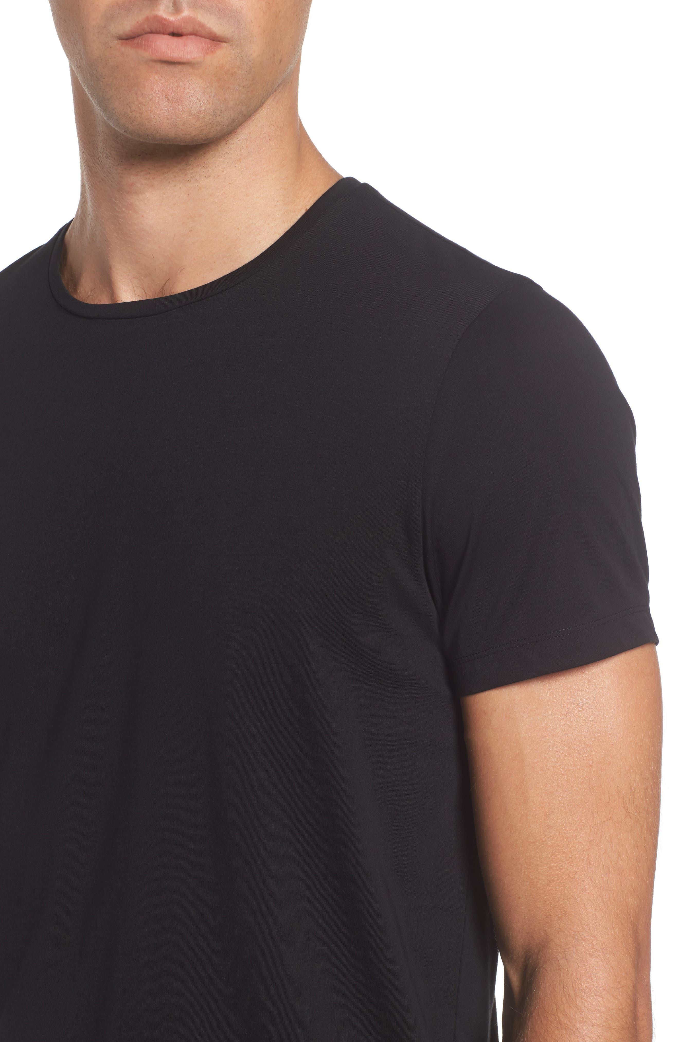Tessler Crewneck T-Shirt,                             Alternate thumbnail 14, color,                             Black