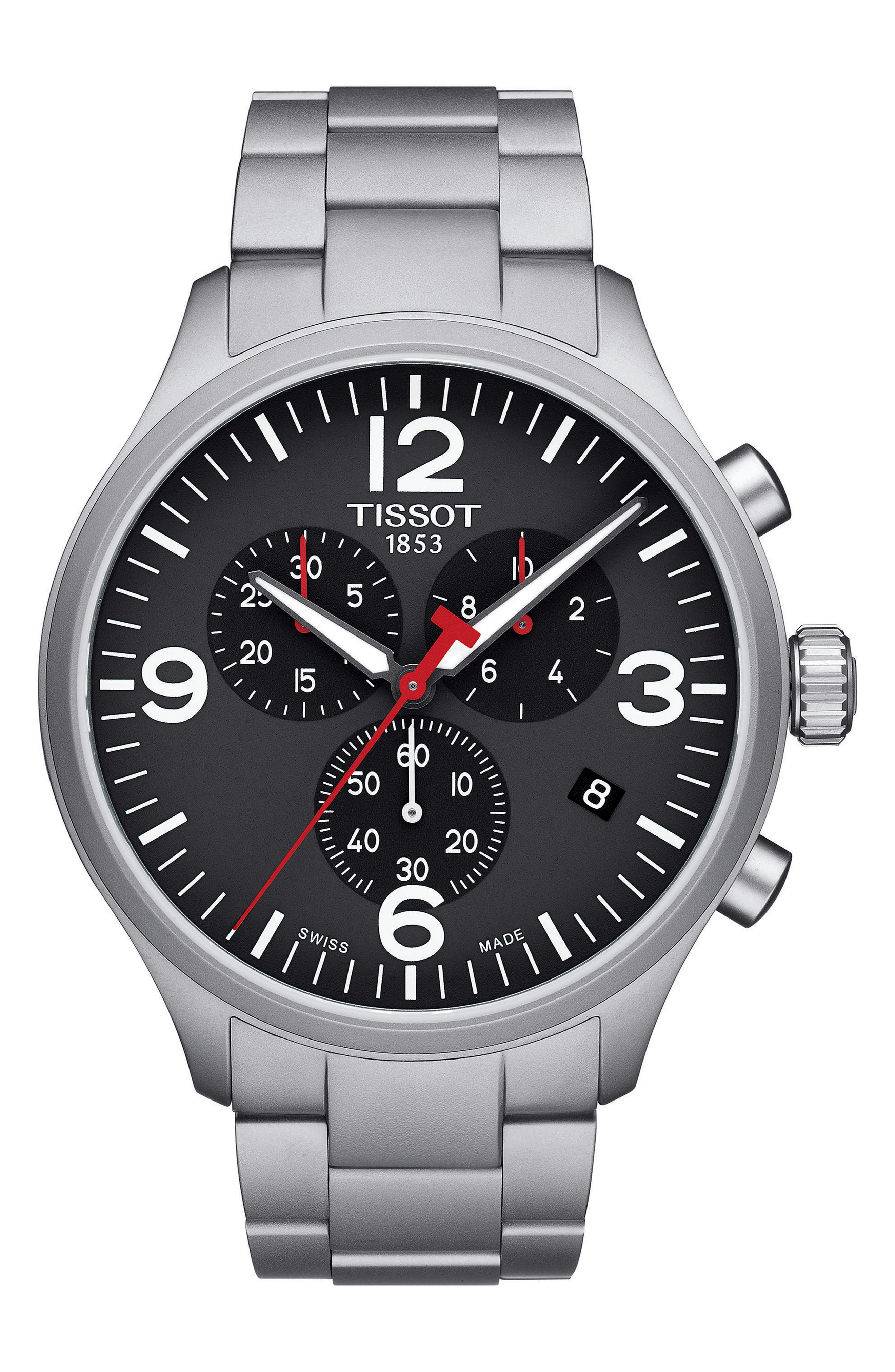 Alternate Image 1 Selected - Tissot Chrono XL Chronograph Bracelet Watch, 45mm