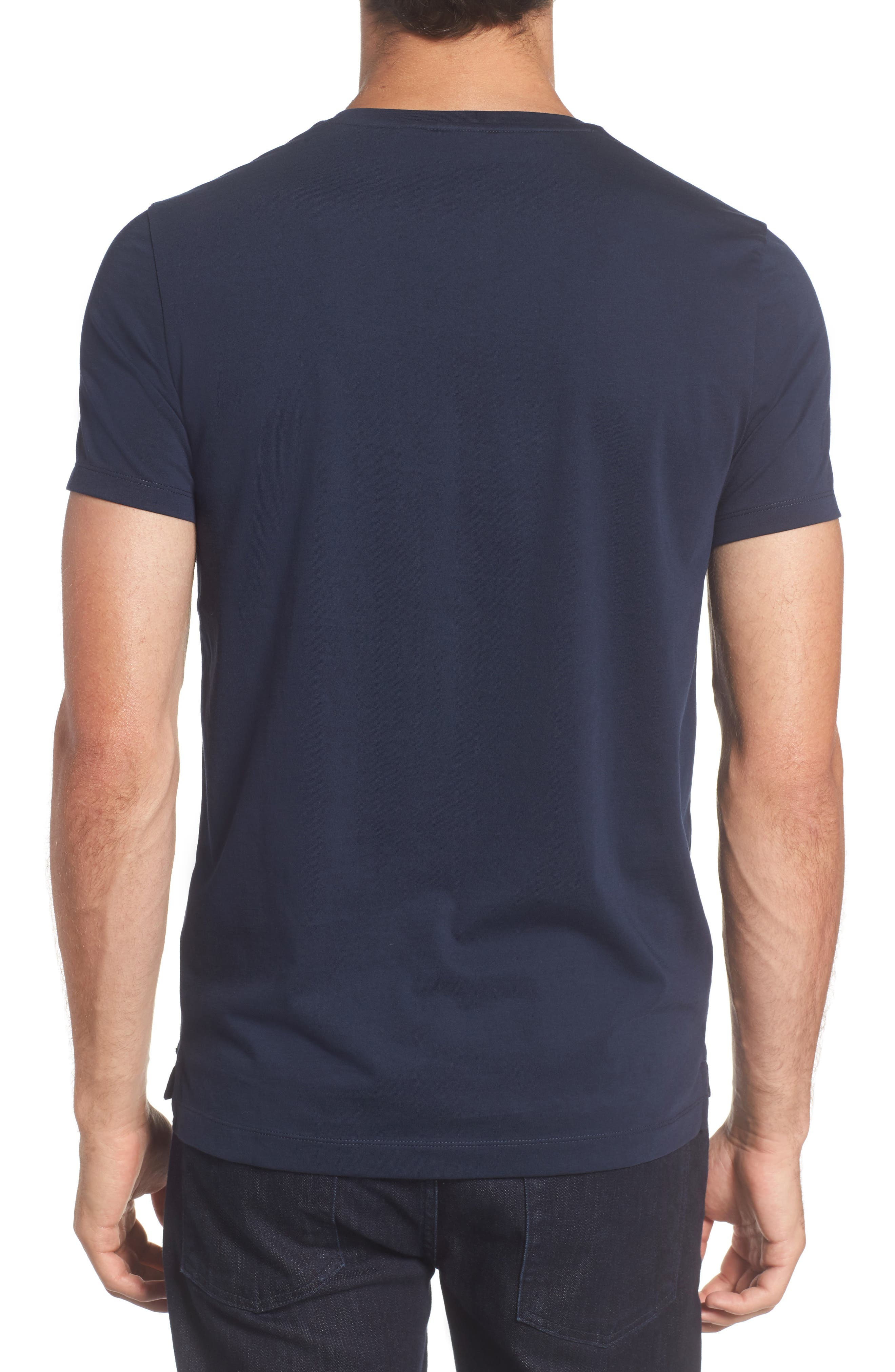 Tessler Crewneck T-Shirt,                             Alternate thumbnail 2, color,                             Black