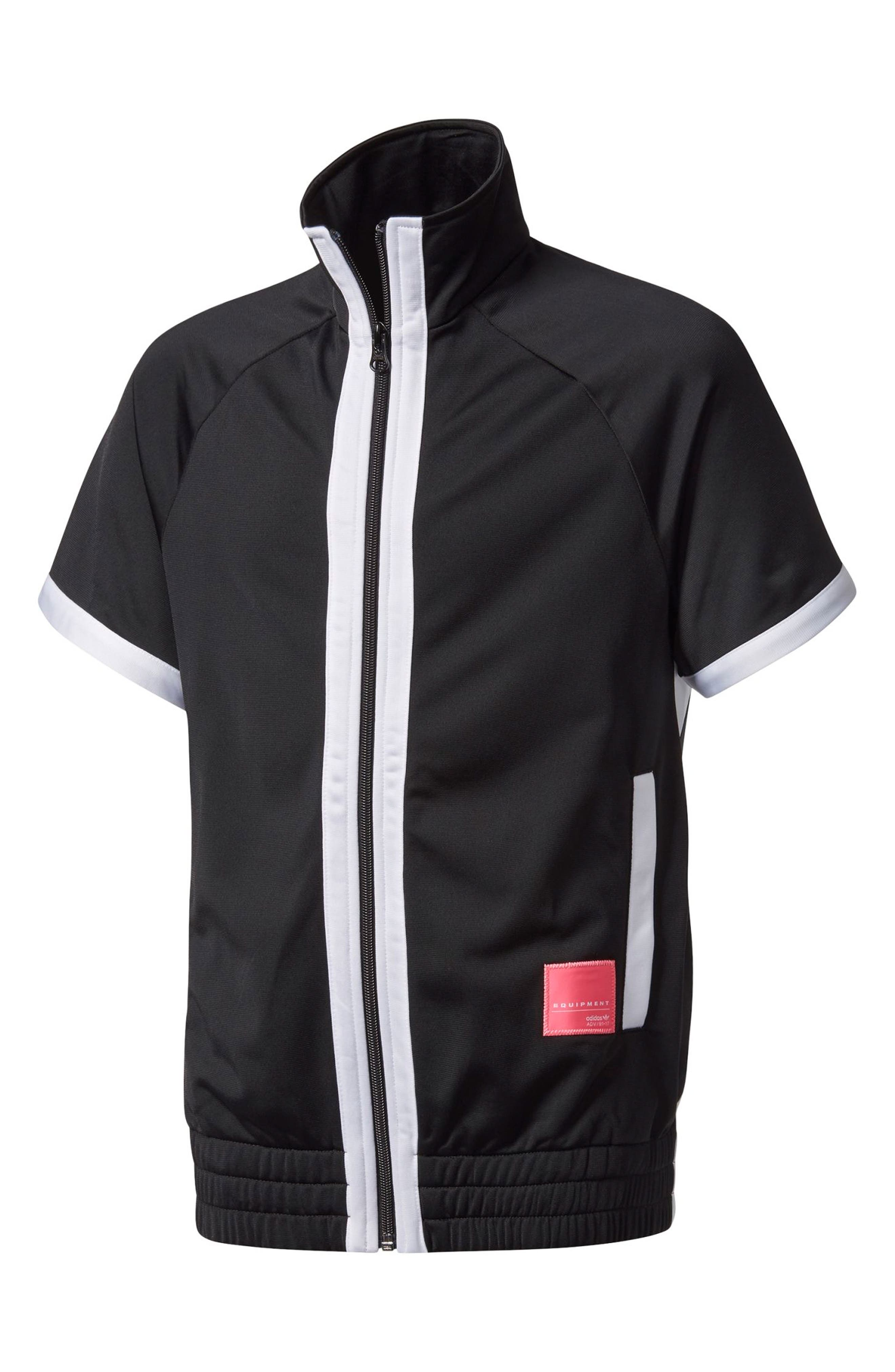adidas Originals EQT Zip Front Jacket (Big Girls)