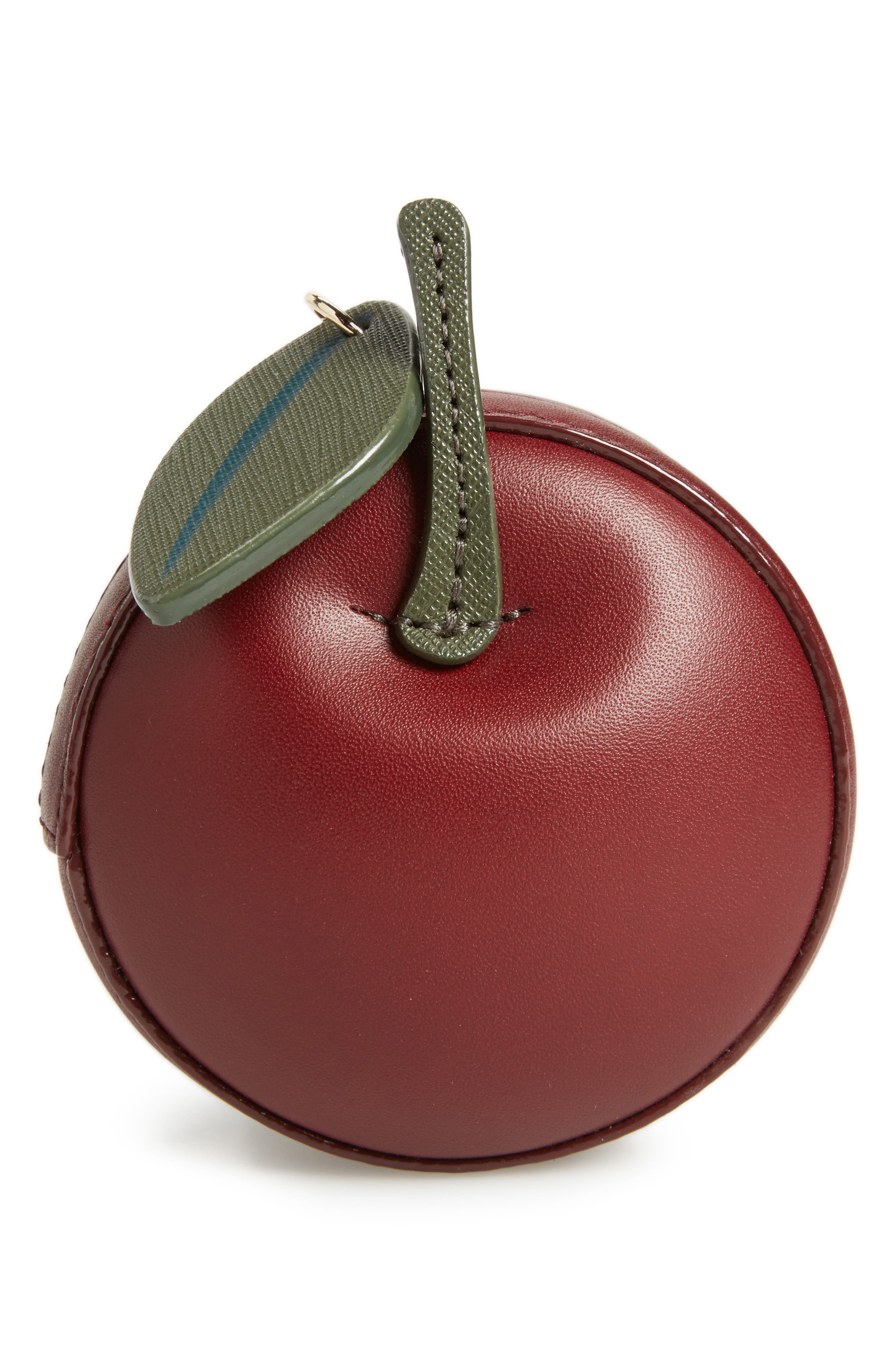 kate spade new york ma cherie - 3D cherry leather coin pouch