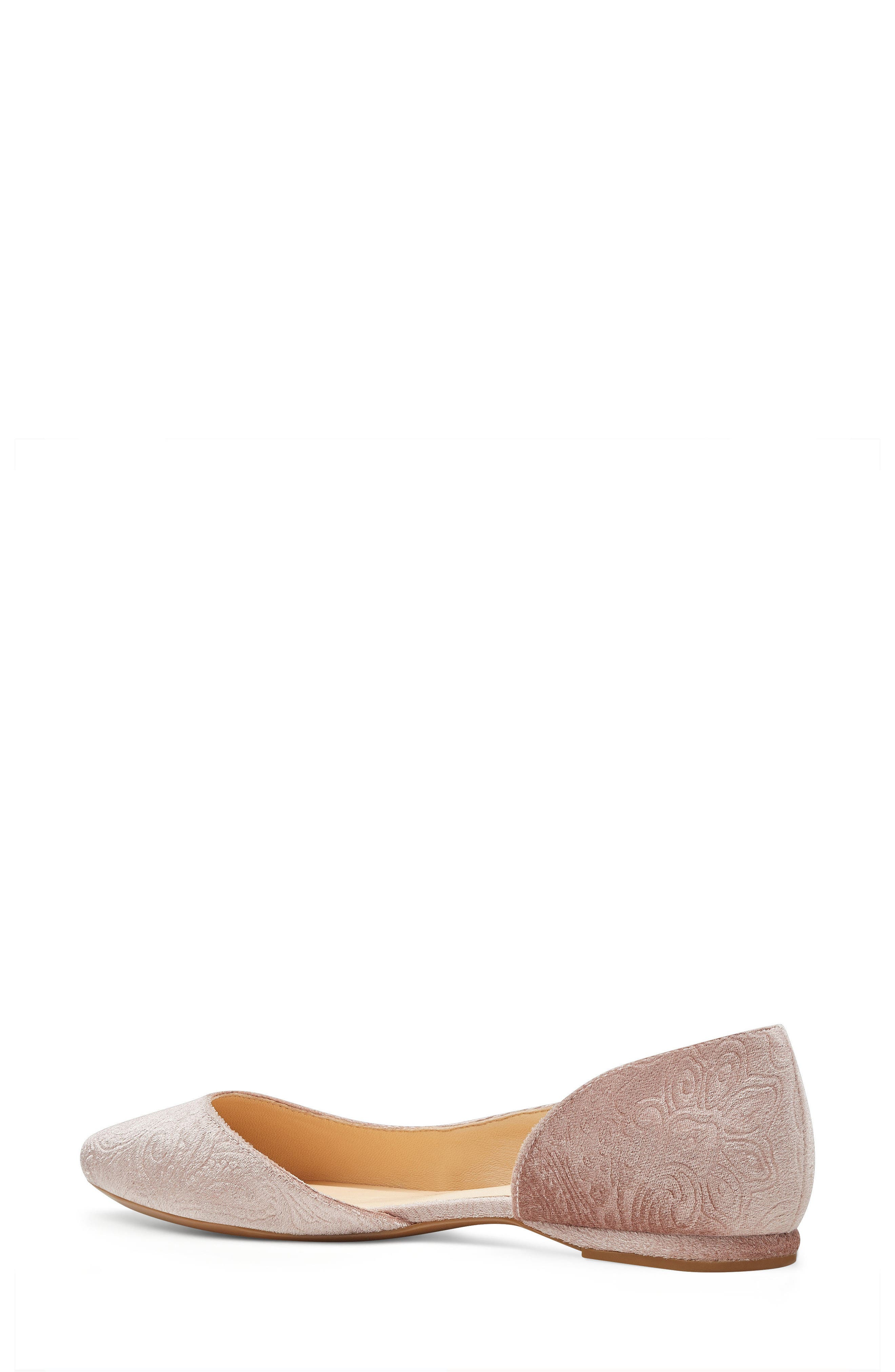 Spruce d'Orsay Flat,                             Alternate thumbnail 2, color,                             Natural Fabric