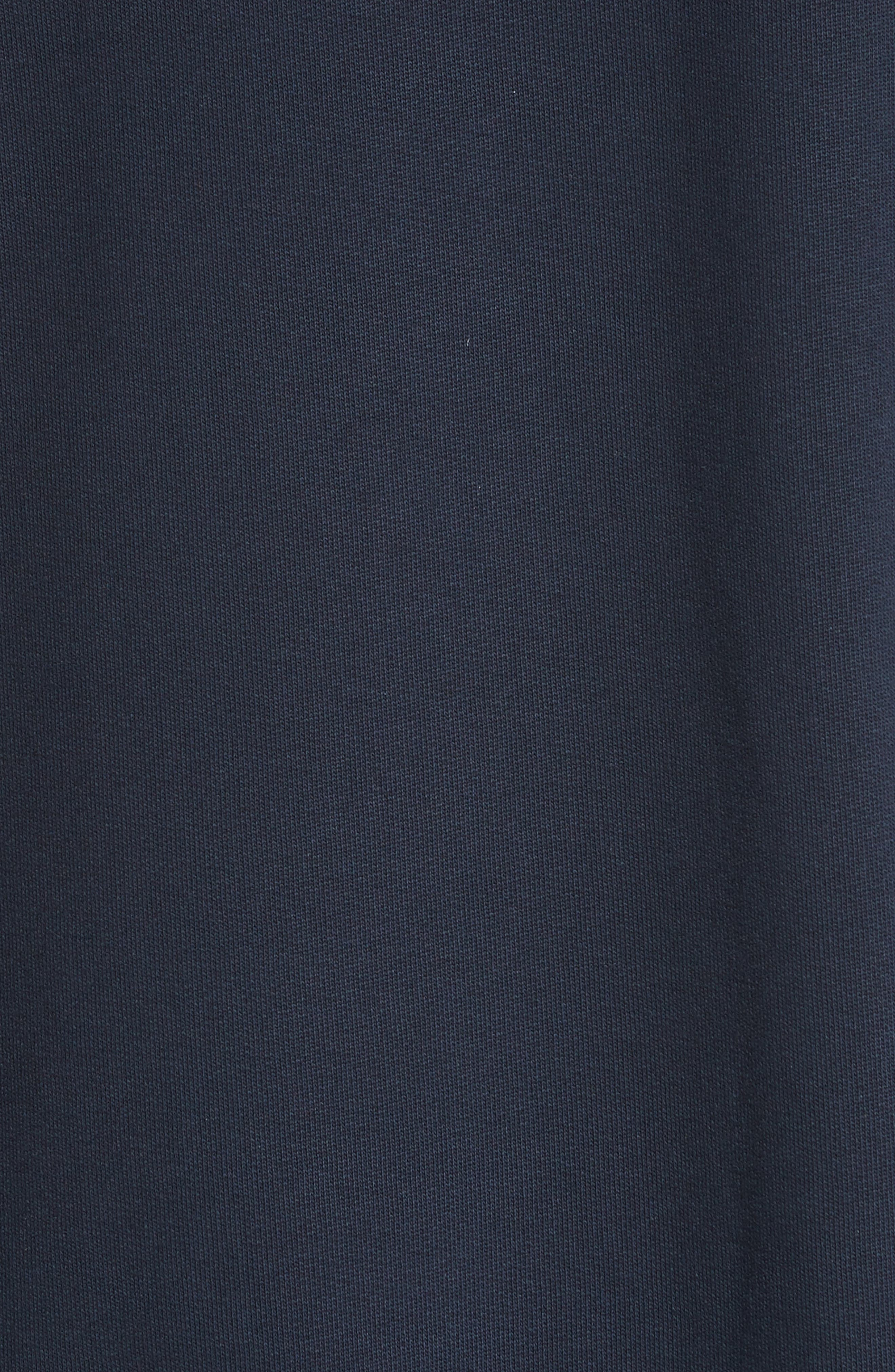Sweatshirt Dress,                             Alternate thumbnail 6, color,                             Navy