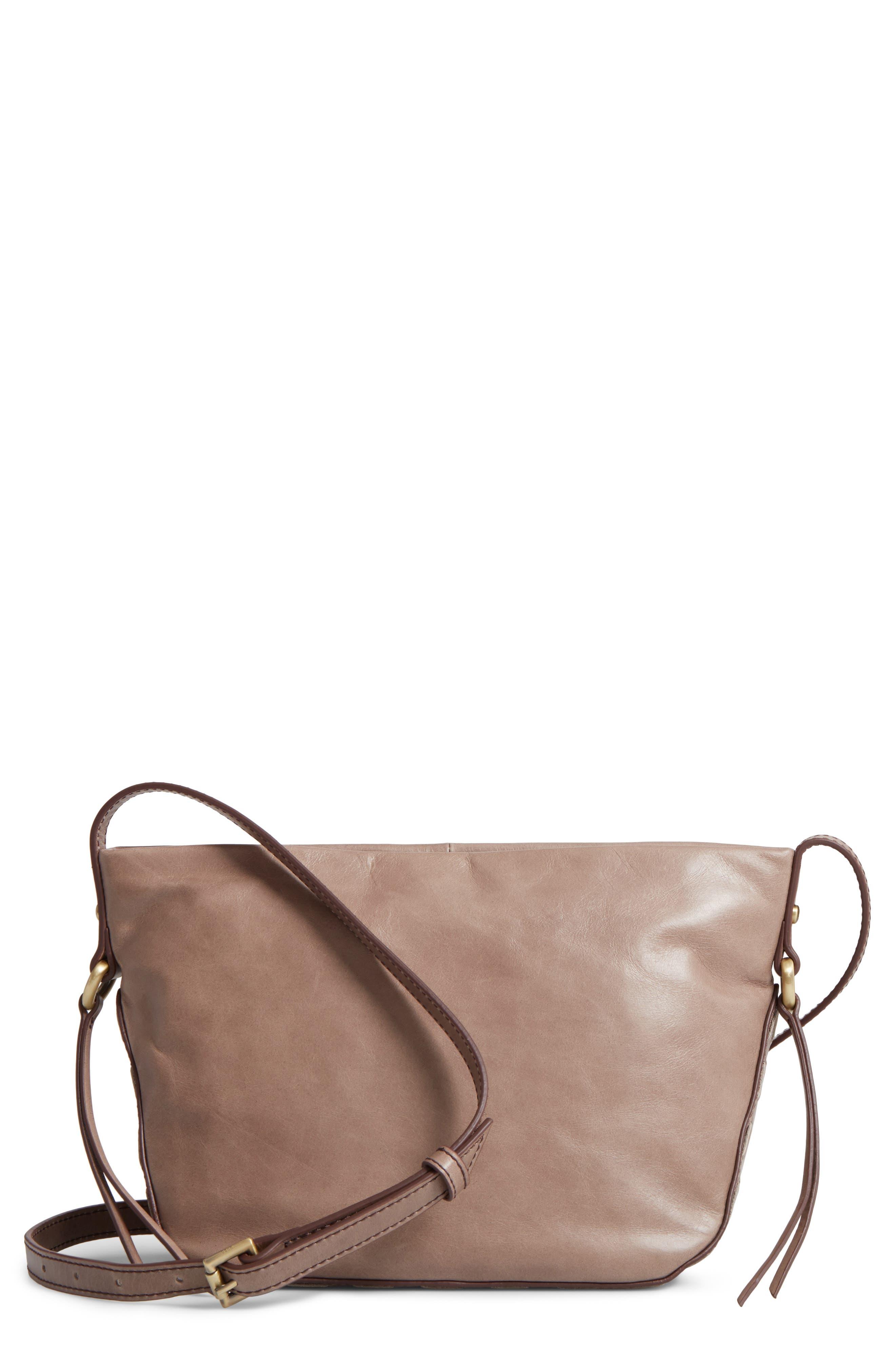 Hobo Muse Calfskin Leather Crossbody Bag