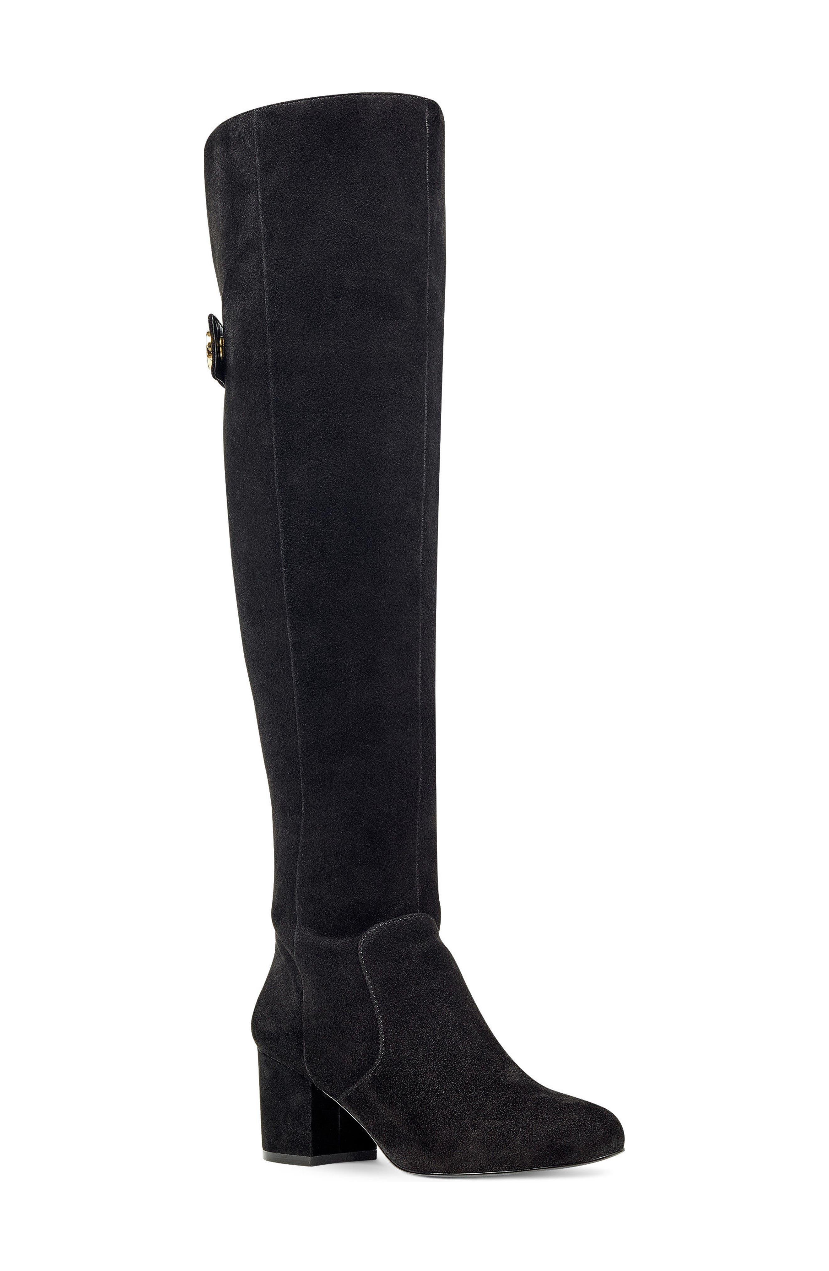 Main Image - Nine West Queddy Over the Knee Boot (Women)
