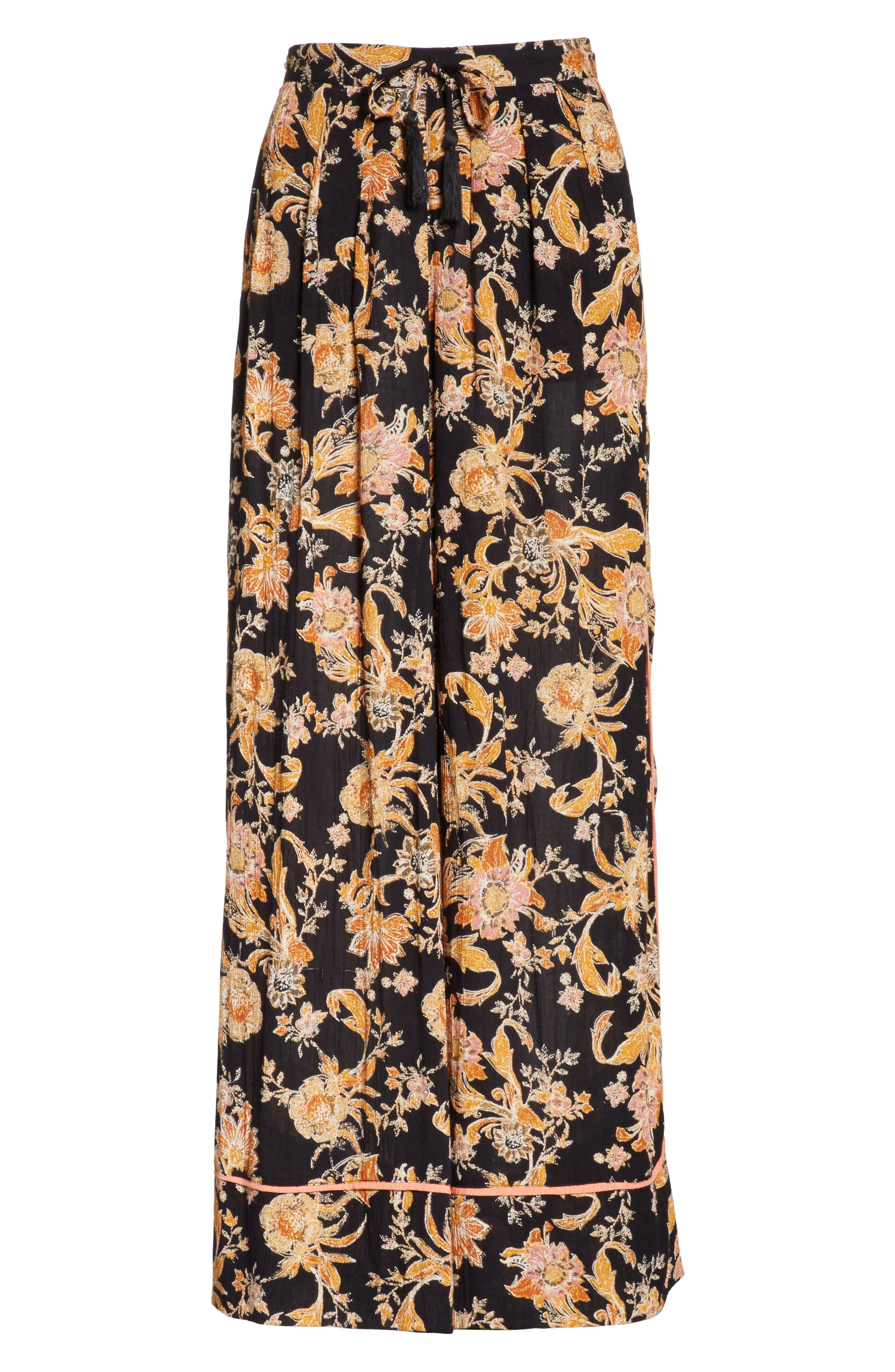 Alternate Image 6  - Free People Bali Wildflower Wide Leg Pants