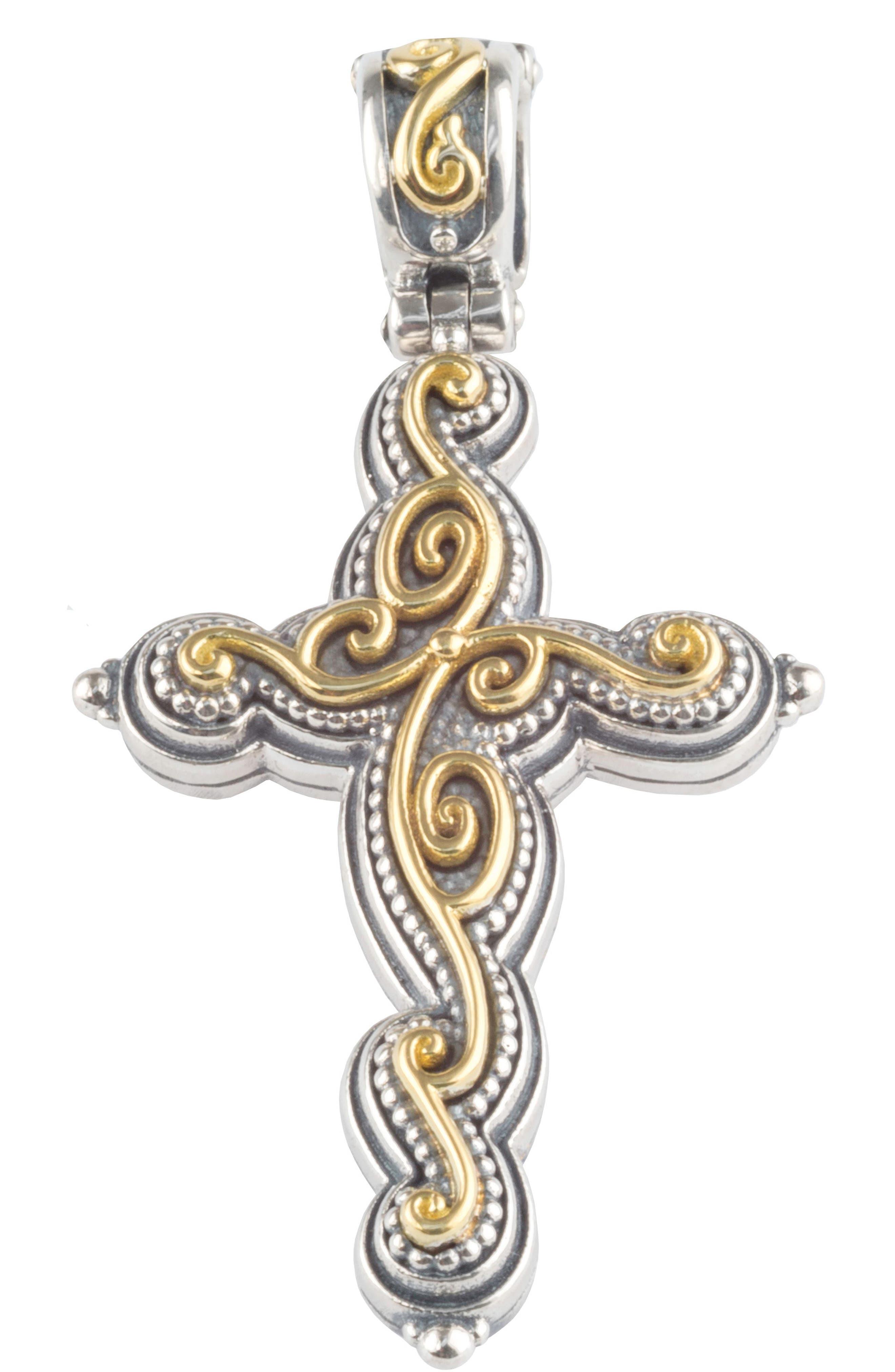 Alternate Image 1 Selected - Konstantino Gaia Cross Pendant