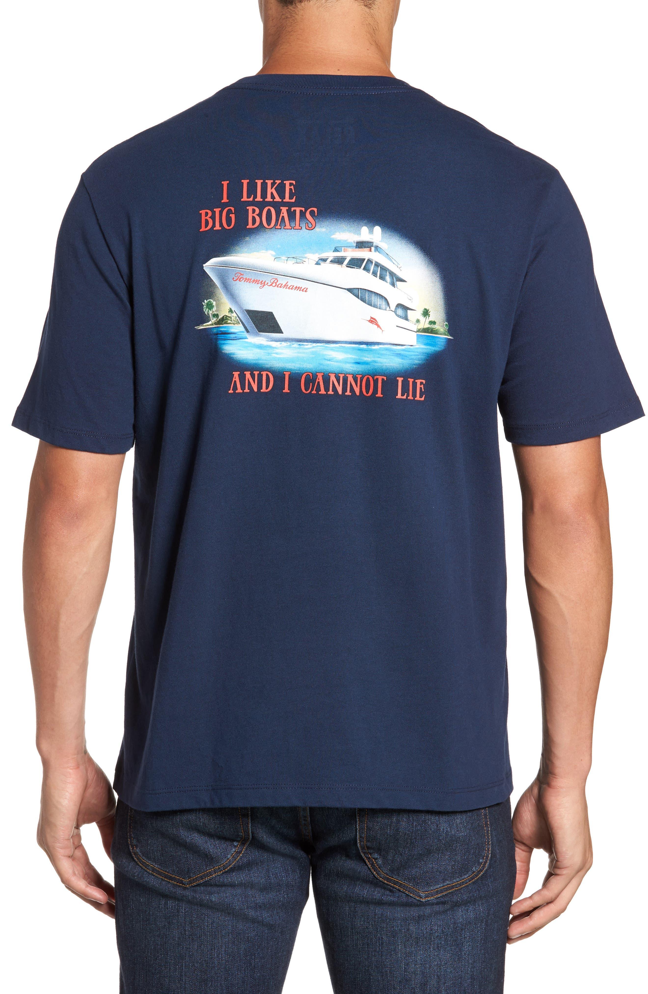 Big Boats Standard Fit T-Shirt,                         Main,                         color, Navy
