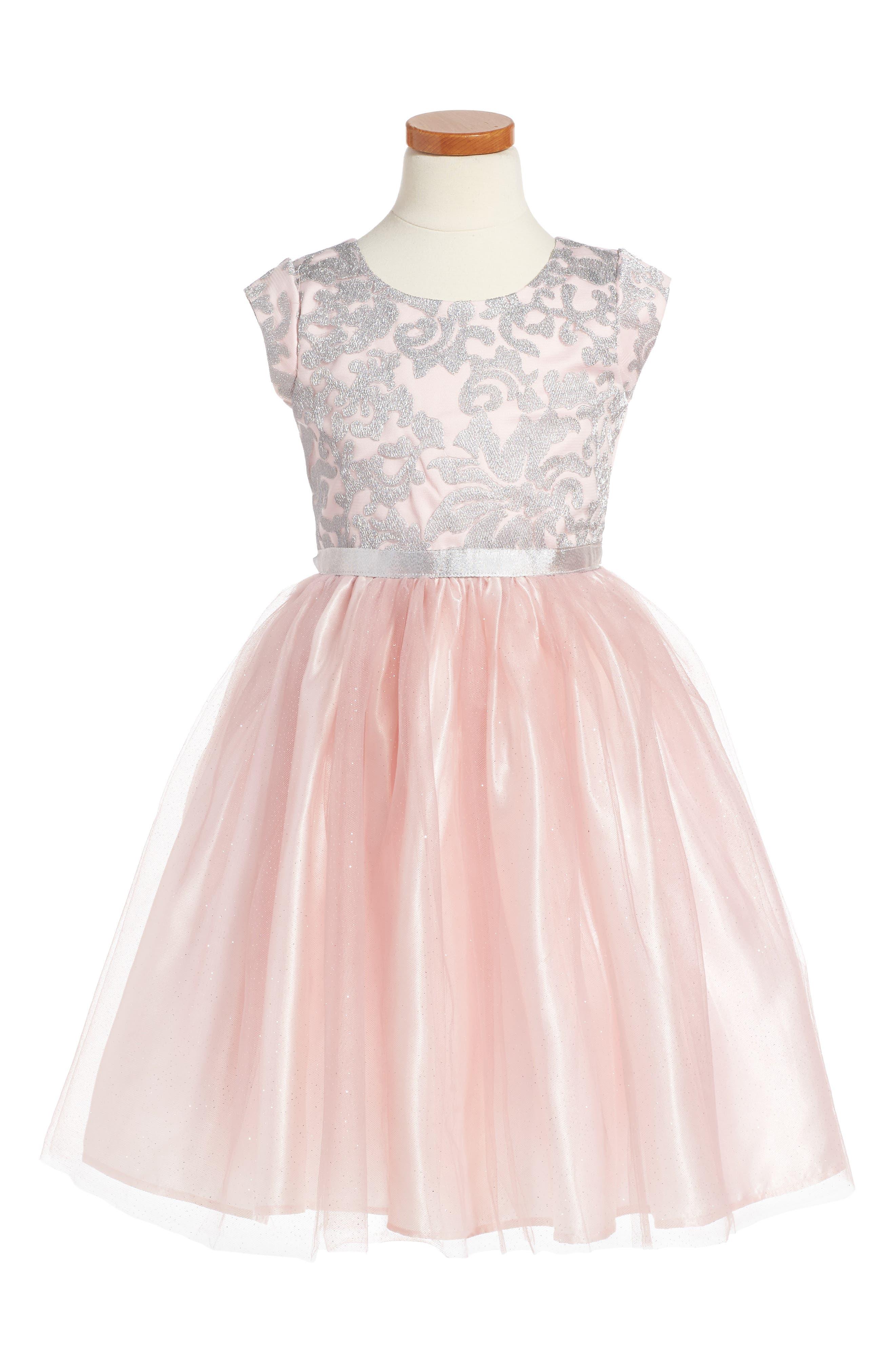Dorissa Elizabeth Dress (Toddler Girls, Little Girls & Big Girls)