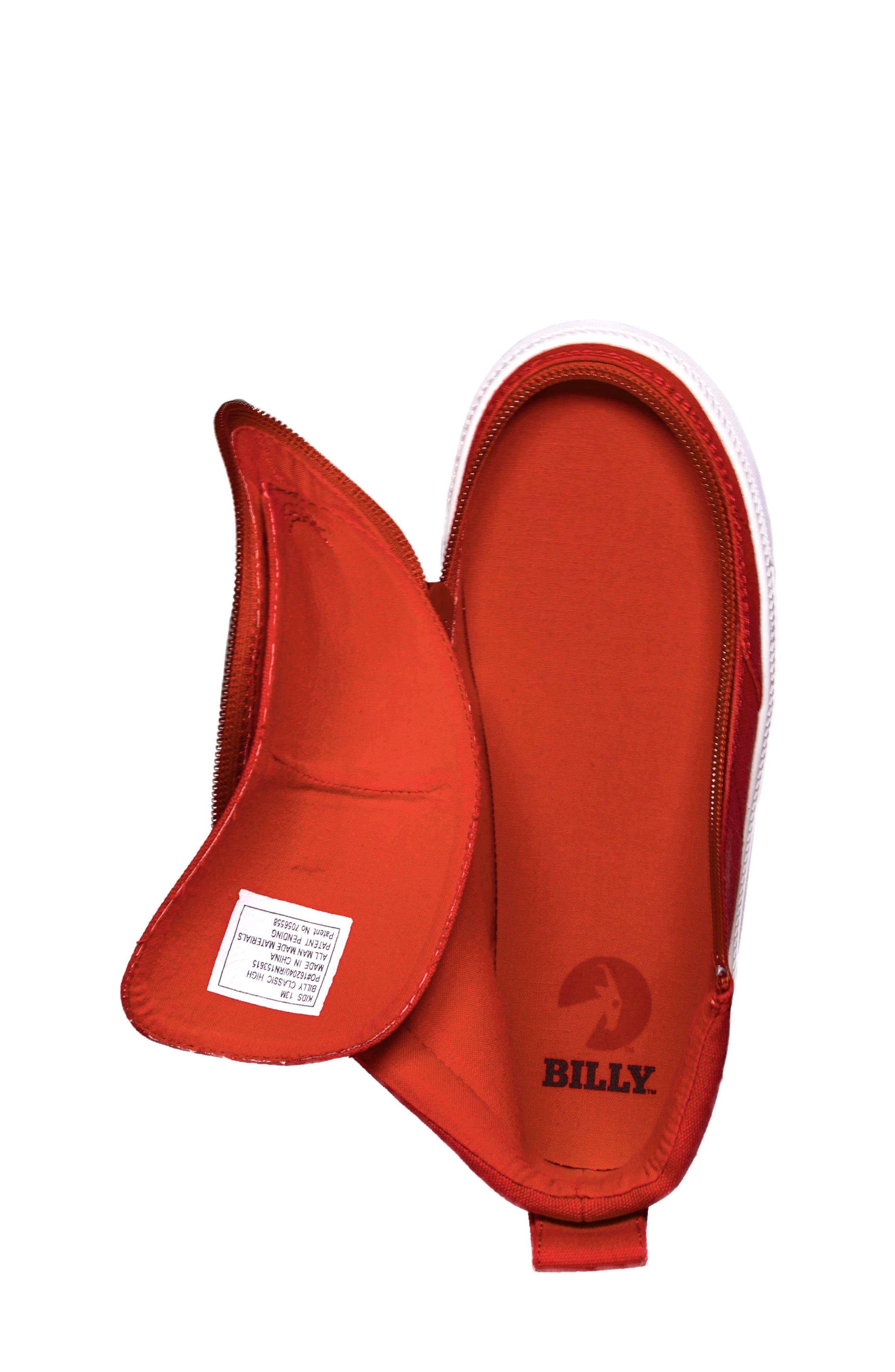 Alternate Image 4  - BILLY Footwear Zip Around High Top Sneaker (Toddler, Little Kid & Big Kid)