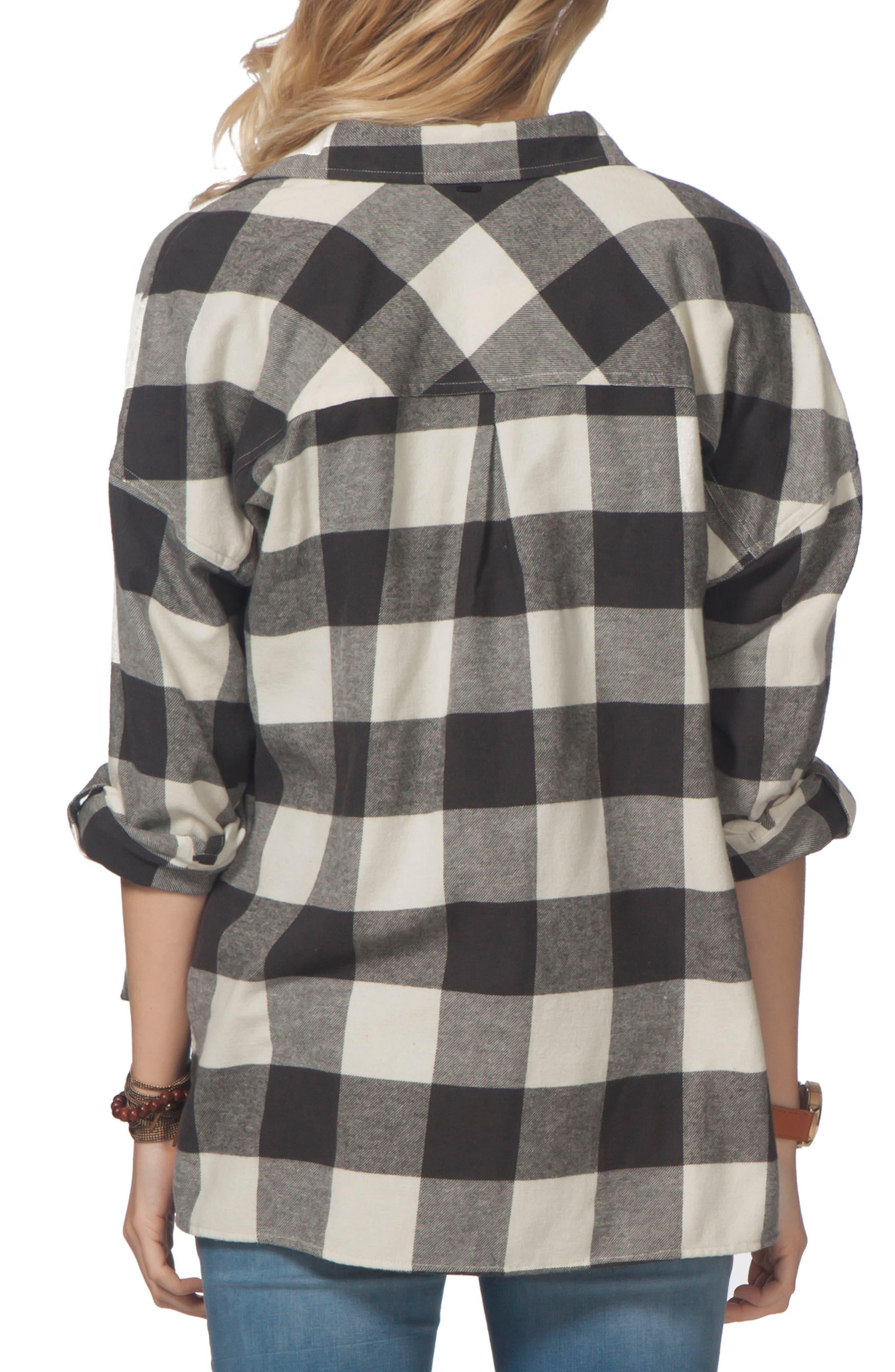 Alternate Image 2  - Rip Curl Marli Flannel Top