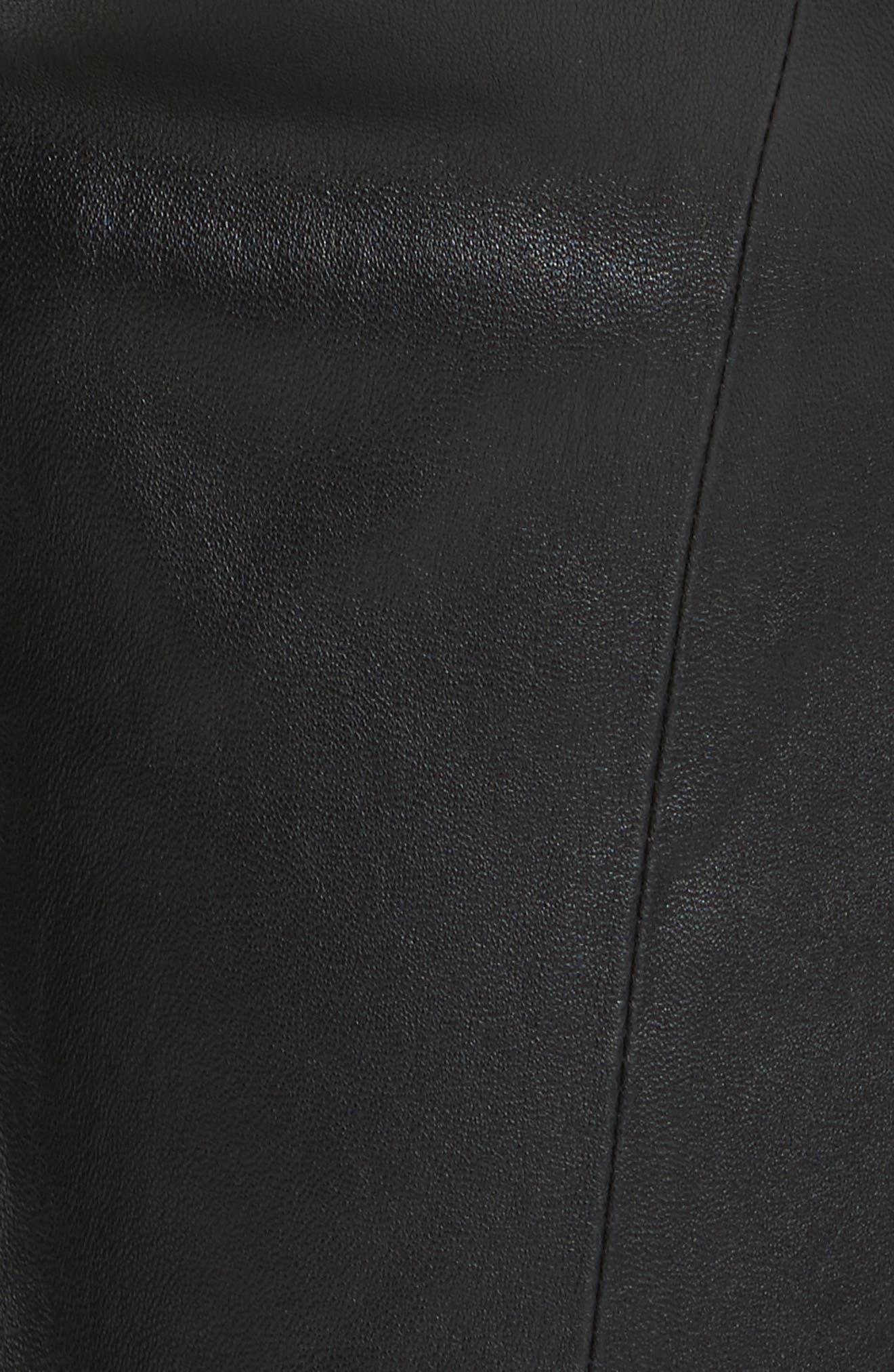 Alternate Image 5  - Lafayette 148 New York Mercer Nappa Leather Pants