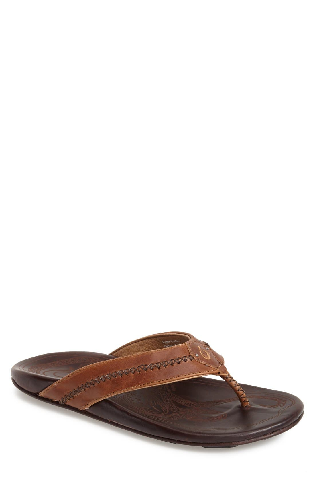 Alternate Image 1 Selected - OluKai 'Mea Ola' Flip Flop (Men)