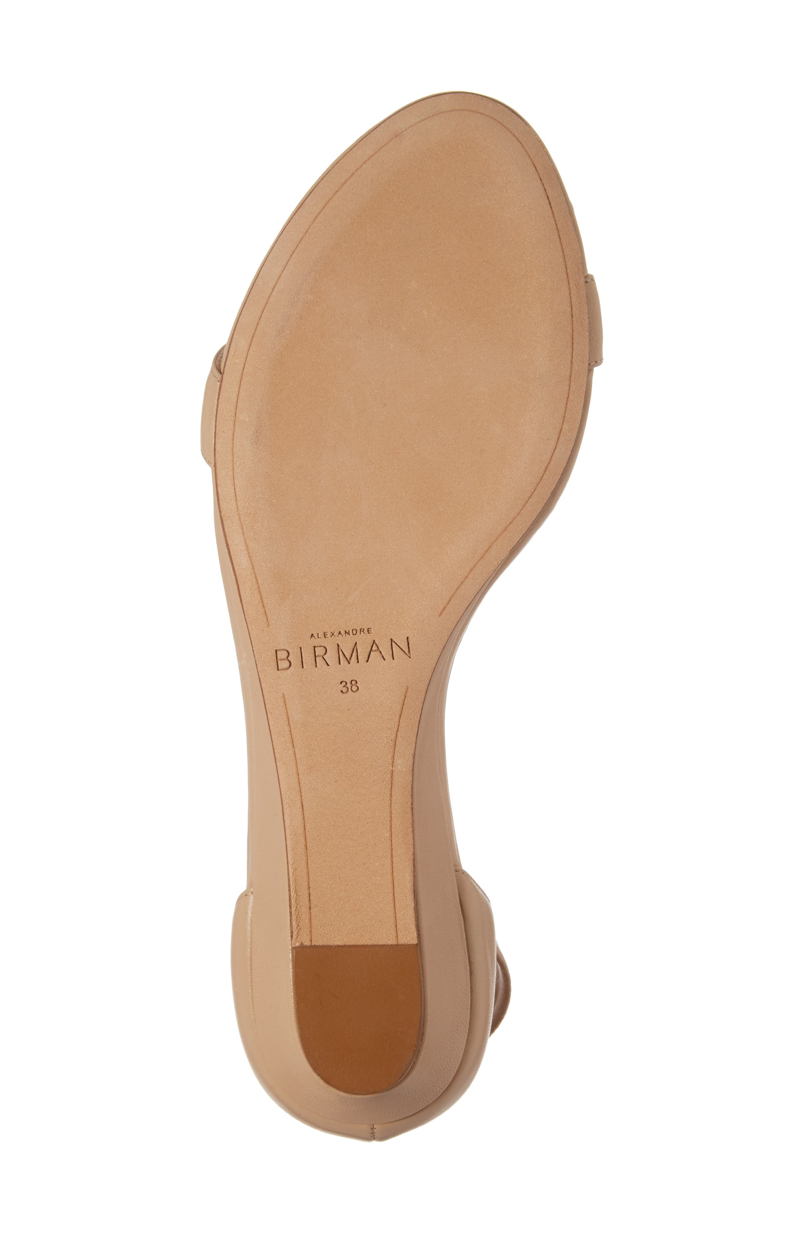 Alternate Image 5  - Alexandre Birman Atena Tie Strap Wedge Sandal (Women)