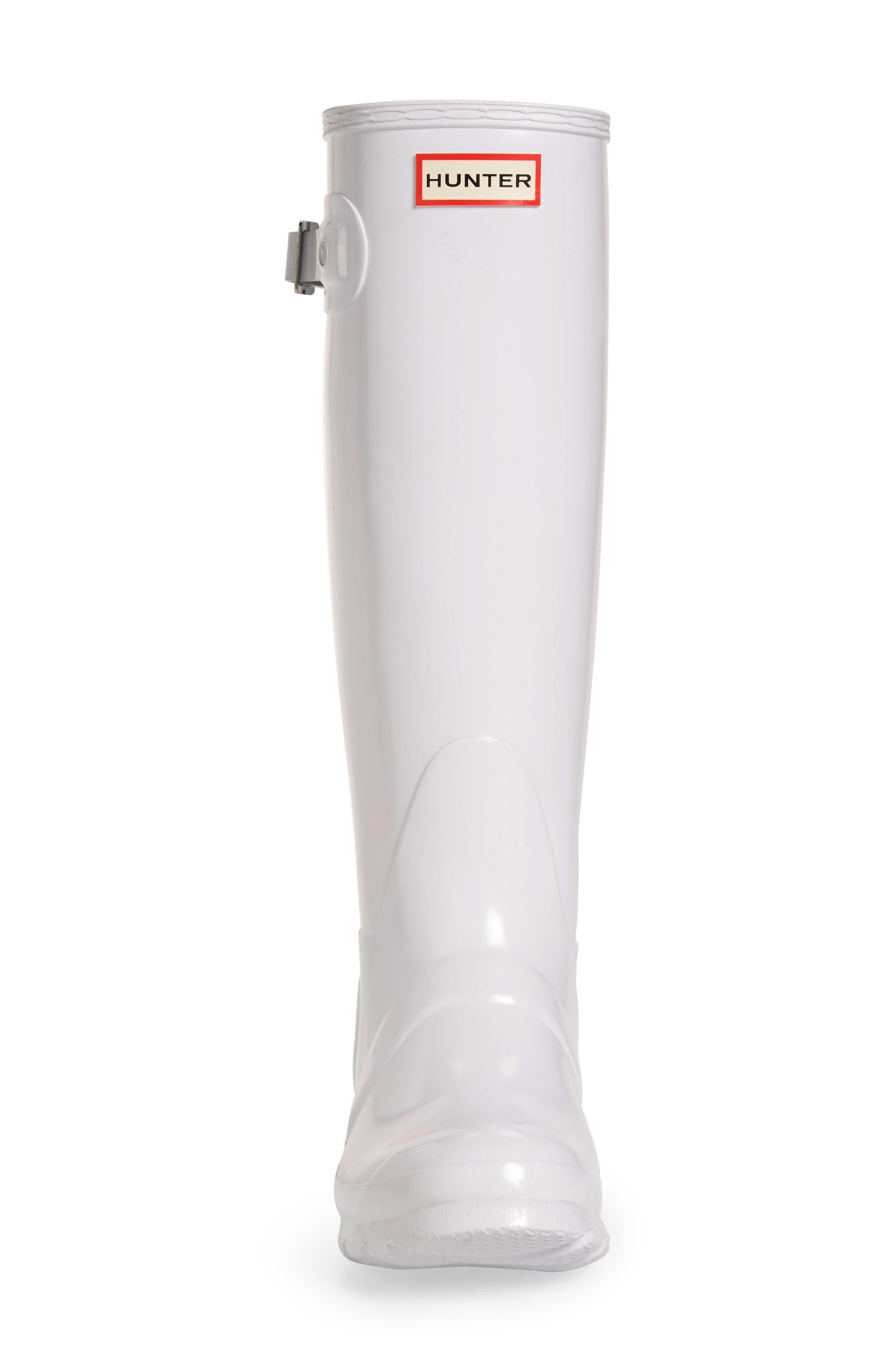 Alternate Image 4  - Hunter Original High Gloss Boot (Women)