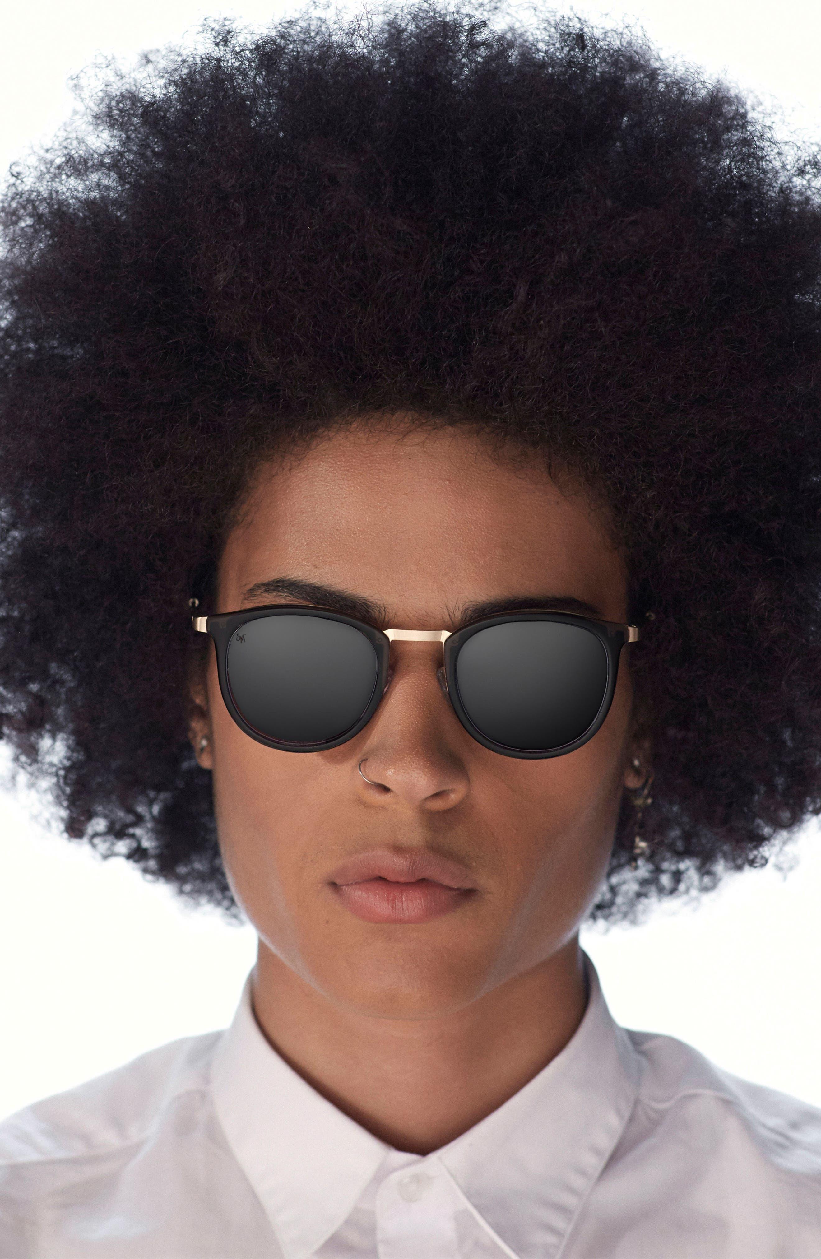 Alternate Image 2  - SMOKE X MIRRORS Shout 49mm Retro Sunglasses