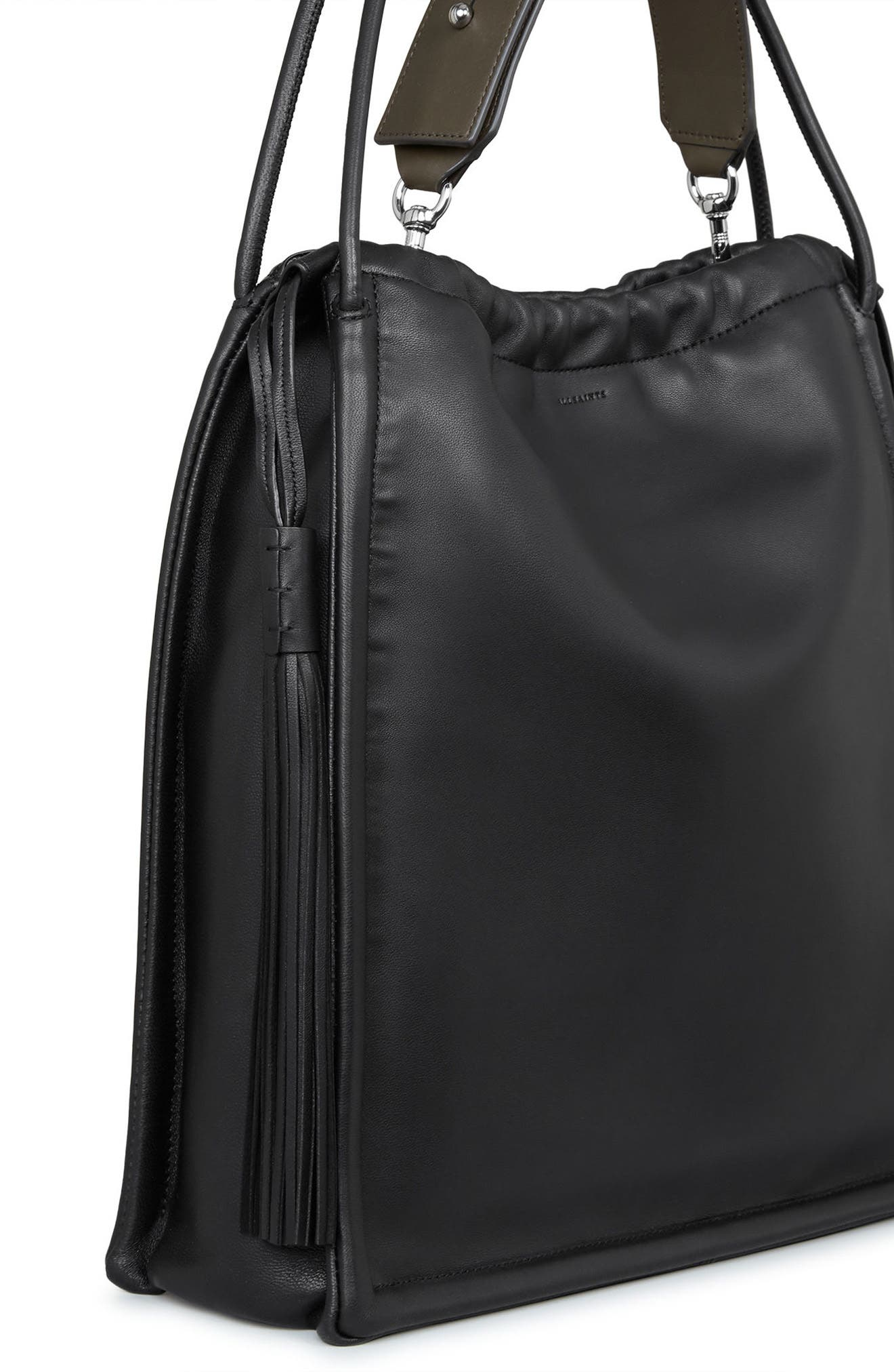 Alternate Image 5  - ALLSAINTS Small Kita Convertible Leather Backpack