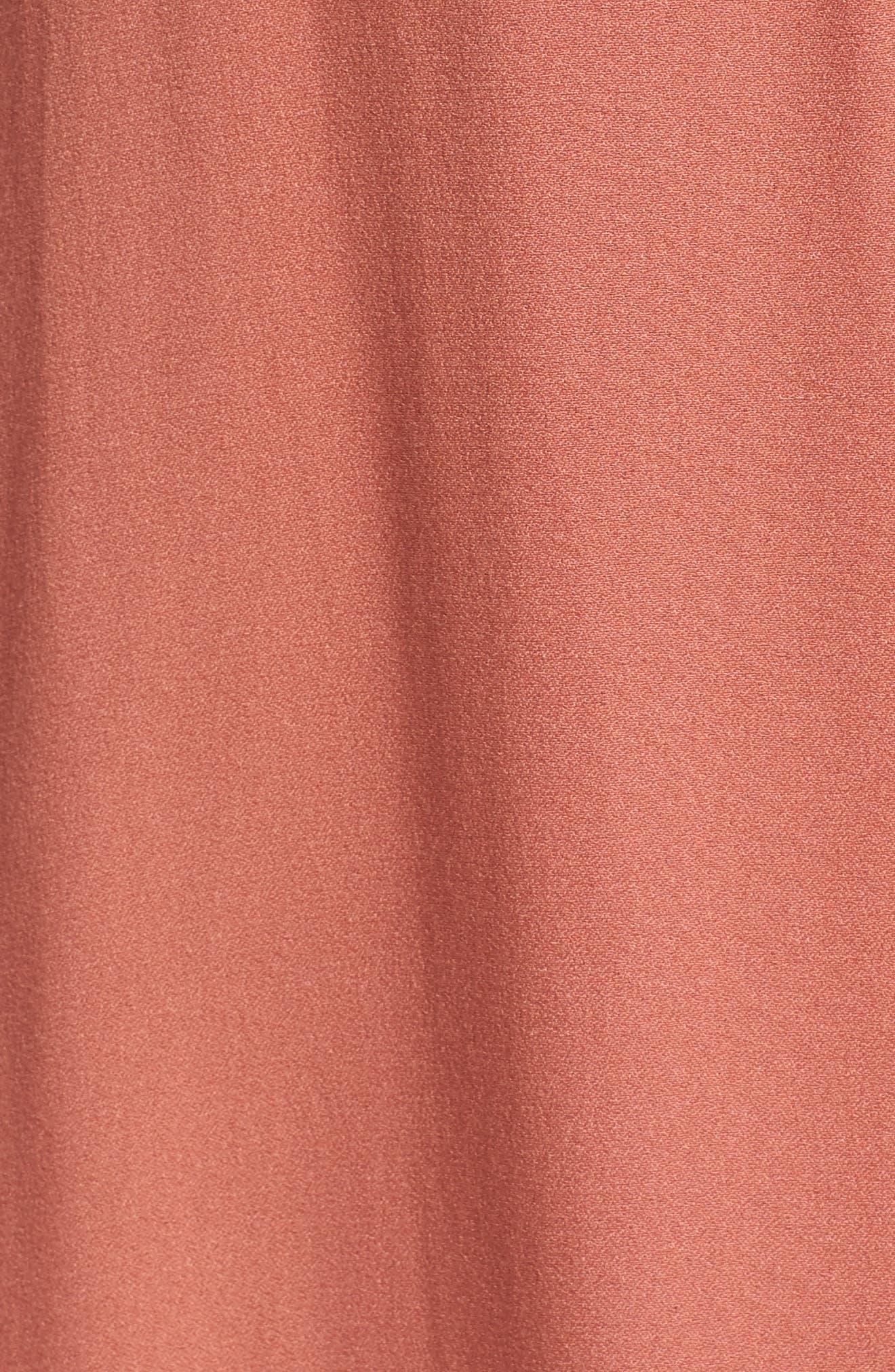 Alternate Image 5  - AFRM Wade Wrap Maxi Dress