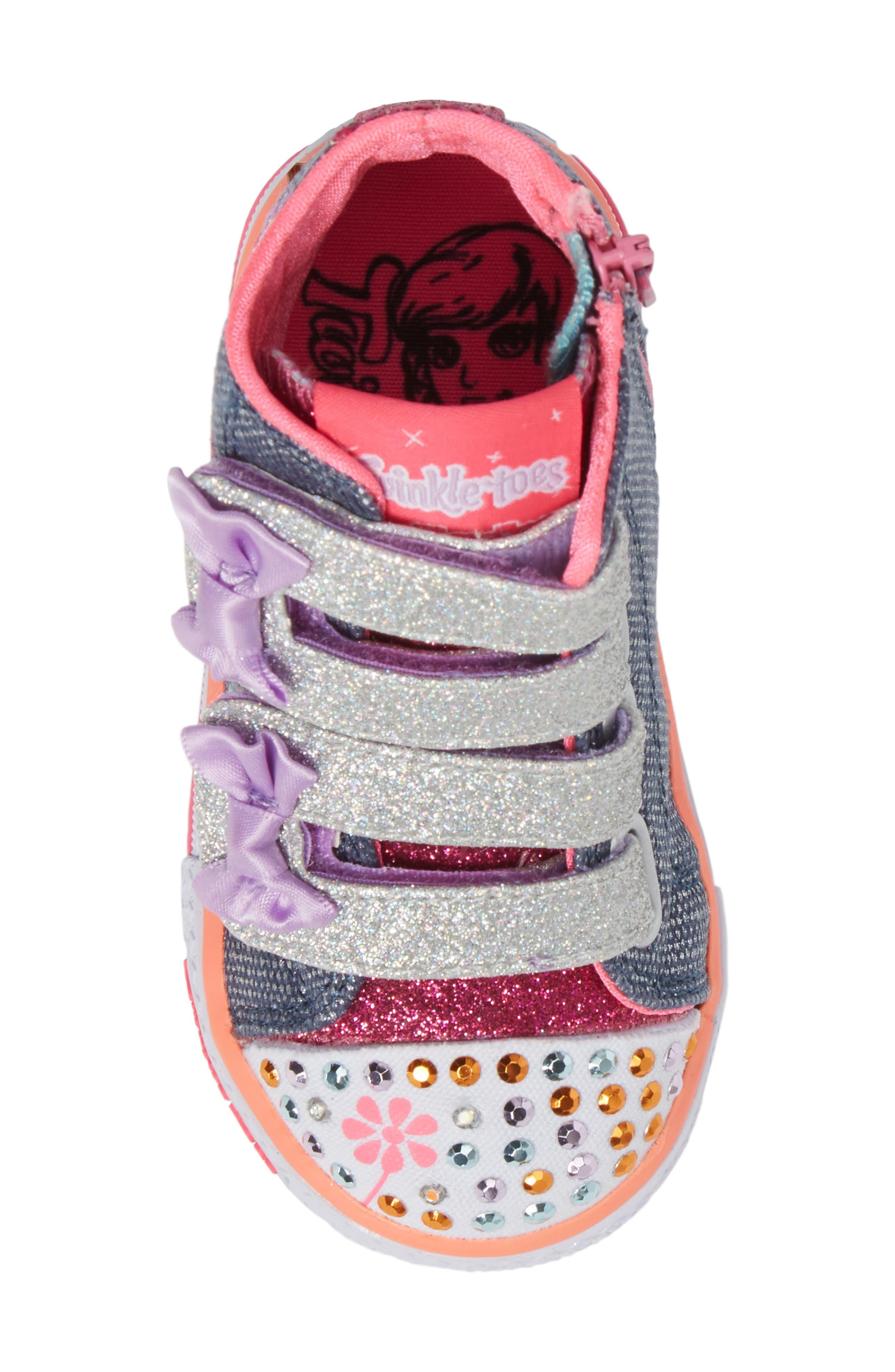 Alternate Image 5  - SKECHERS Shuffles Sneaker (Walker & Toddler)