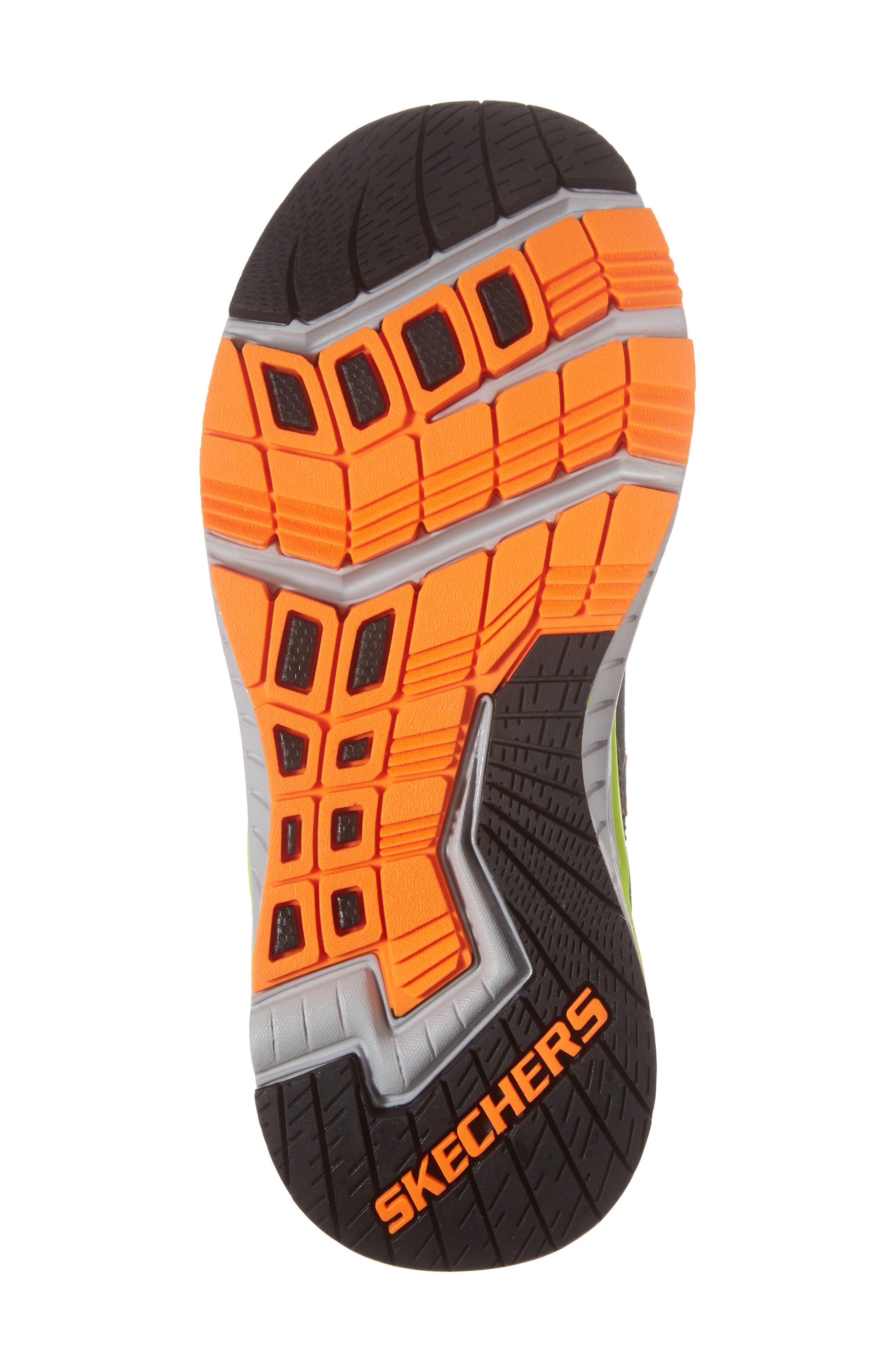 Hyperjolt Sneaker,                             Alternate thumbnail 6, color,                             Charcoal/ Black/ Lime