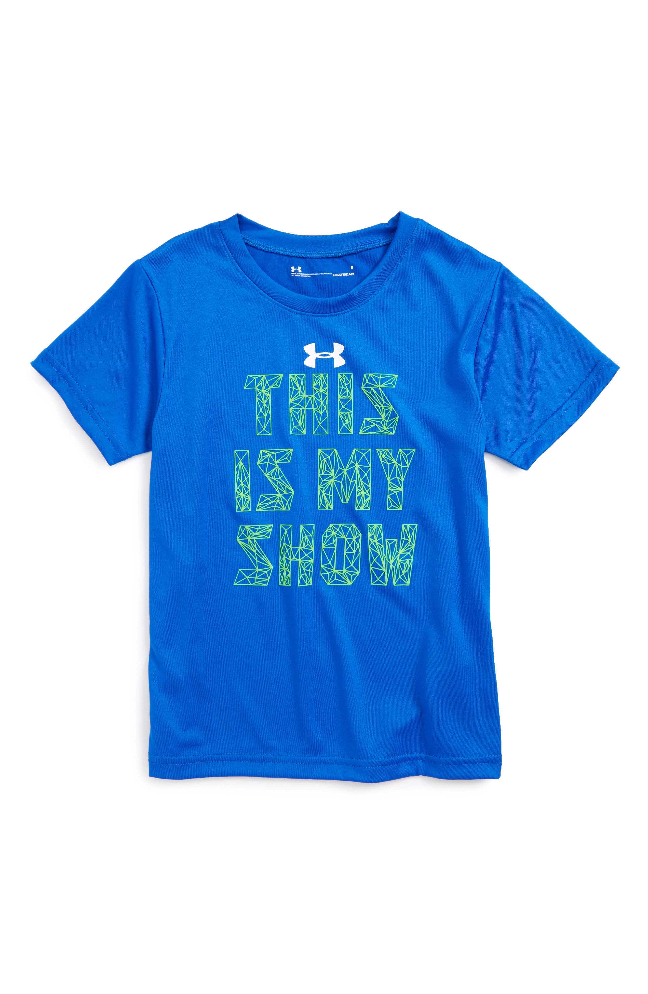 UNDER ARMOUR This is My Show Graphic HeatGear<sup>®</sup> T-Shirt