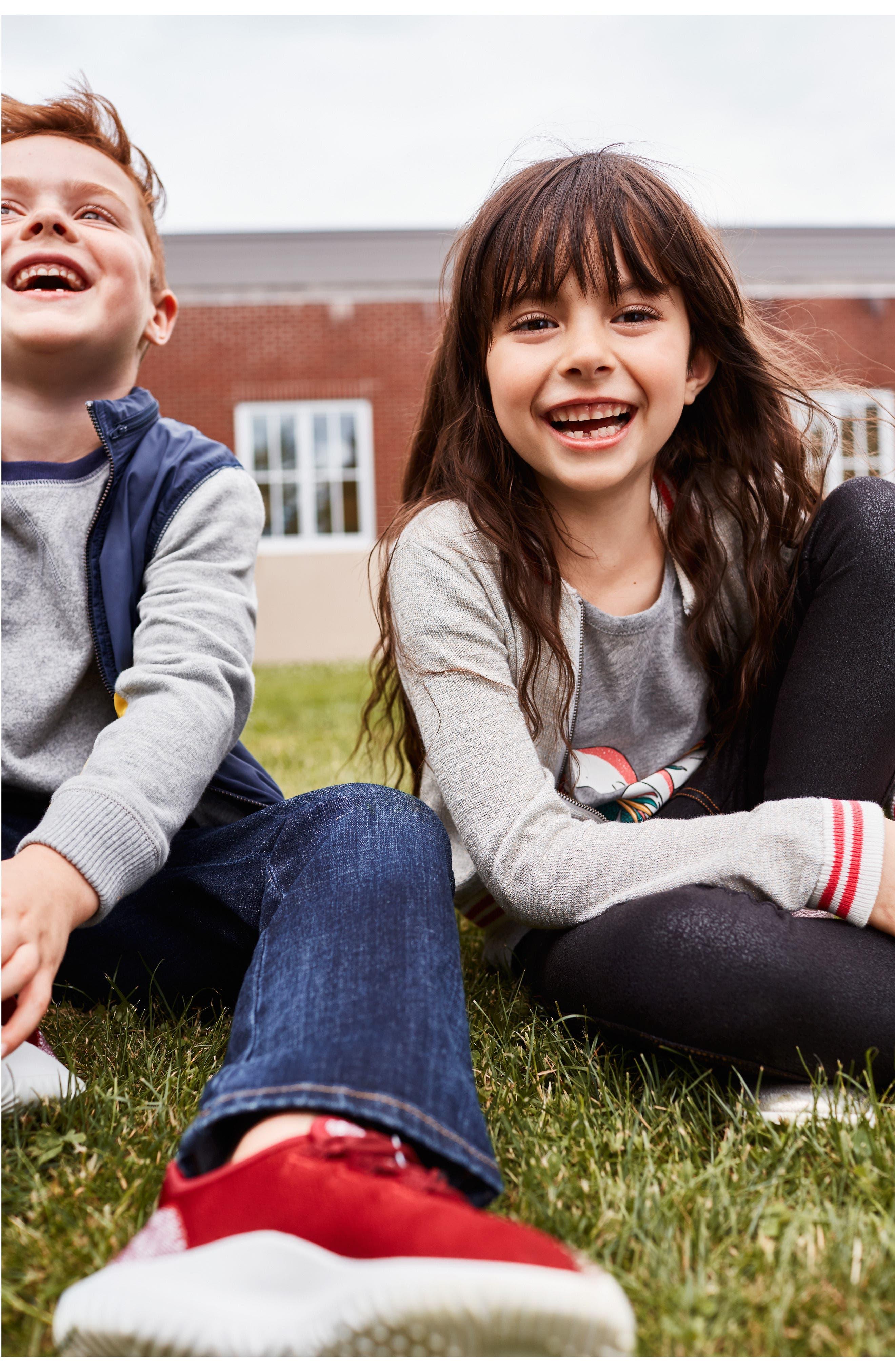 Alternate Image 5  - Tucker + Tate Denim Moto Leggings (Toddler Girls, Little Girls & Big Girls)