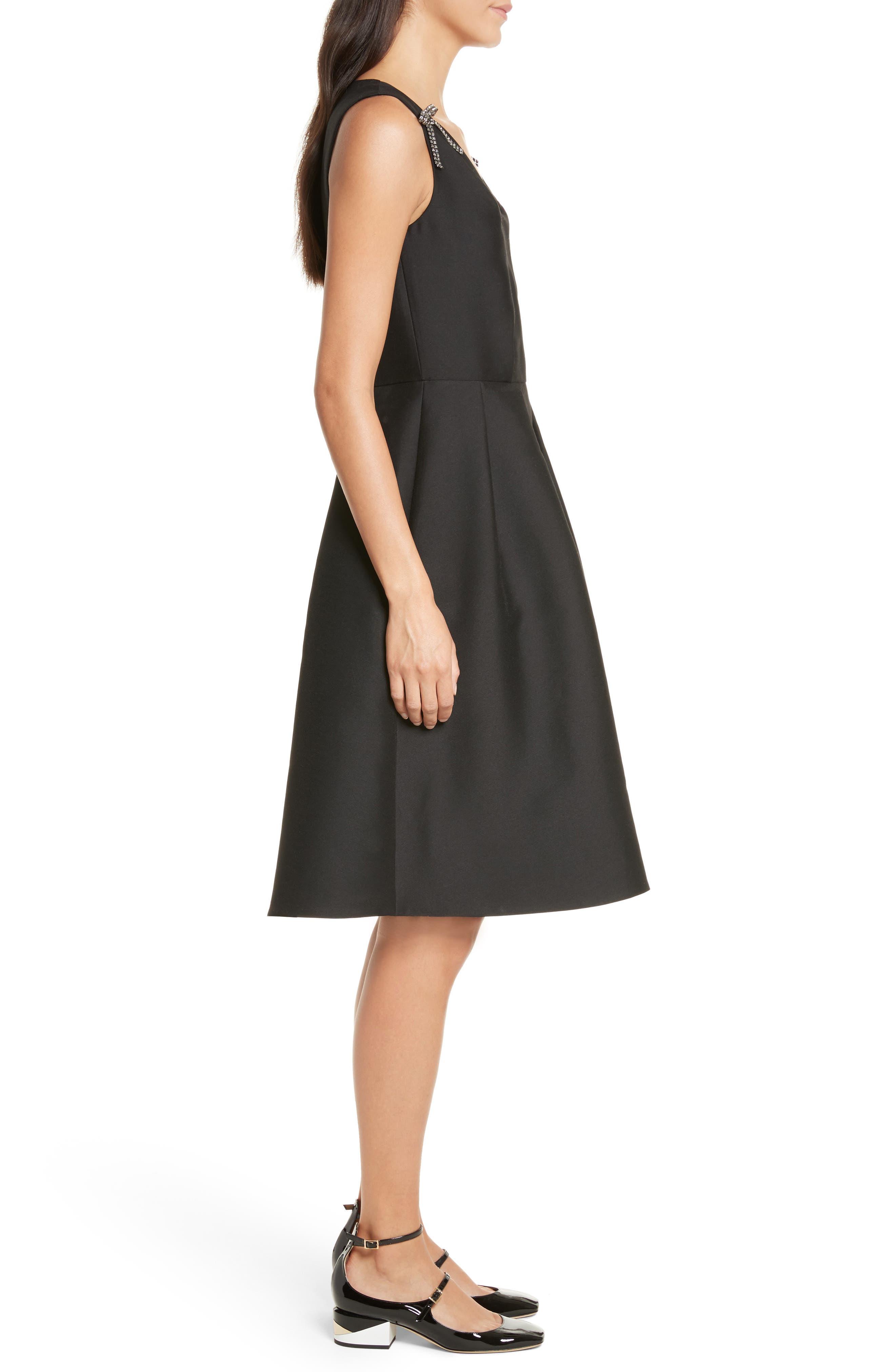 Alternate Image 3  - kate spade new york bow embellished fit & flare dress