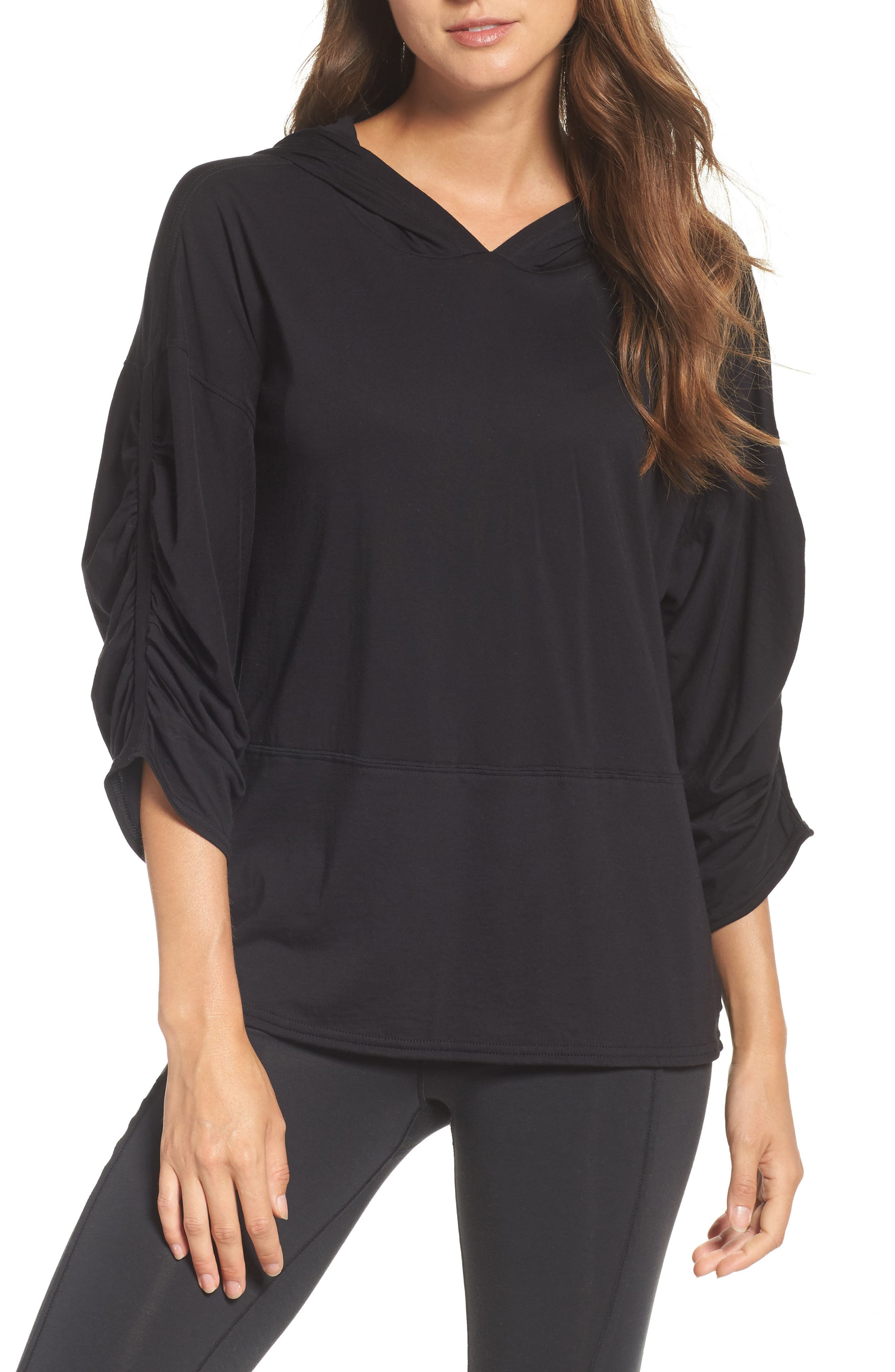 Free People FP Movement Horizon Hooded Tee