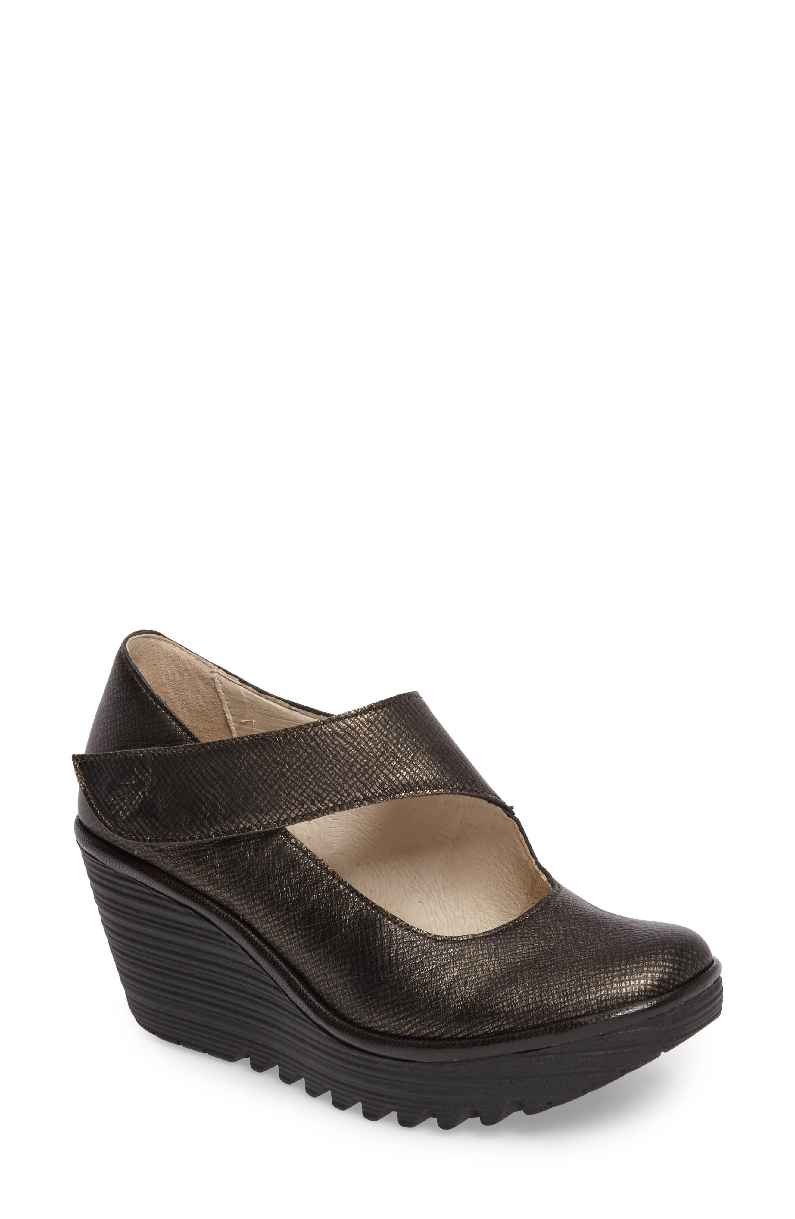 Fly London 'Yasi' Wedge Pump (Women)