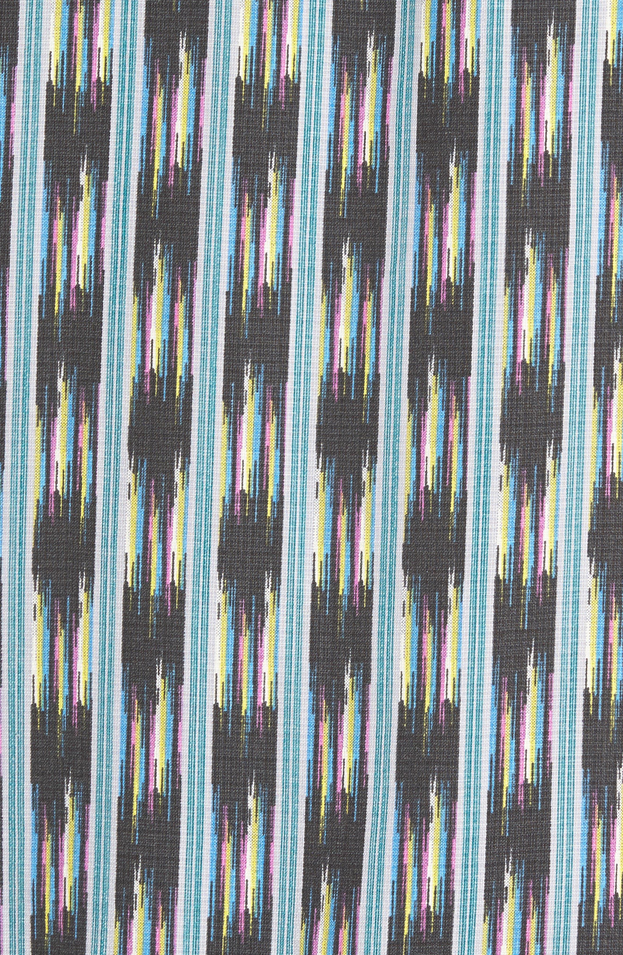 Alternate Image 5  - Tommy Bahama Ikat on a Hot Tin Roof Standard Fit Silk Blend Camp Shirt