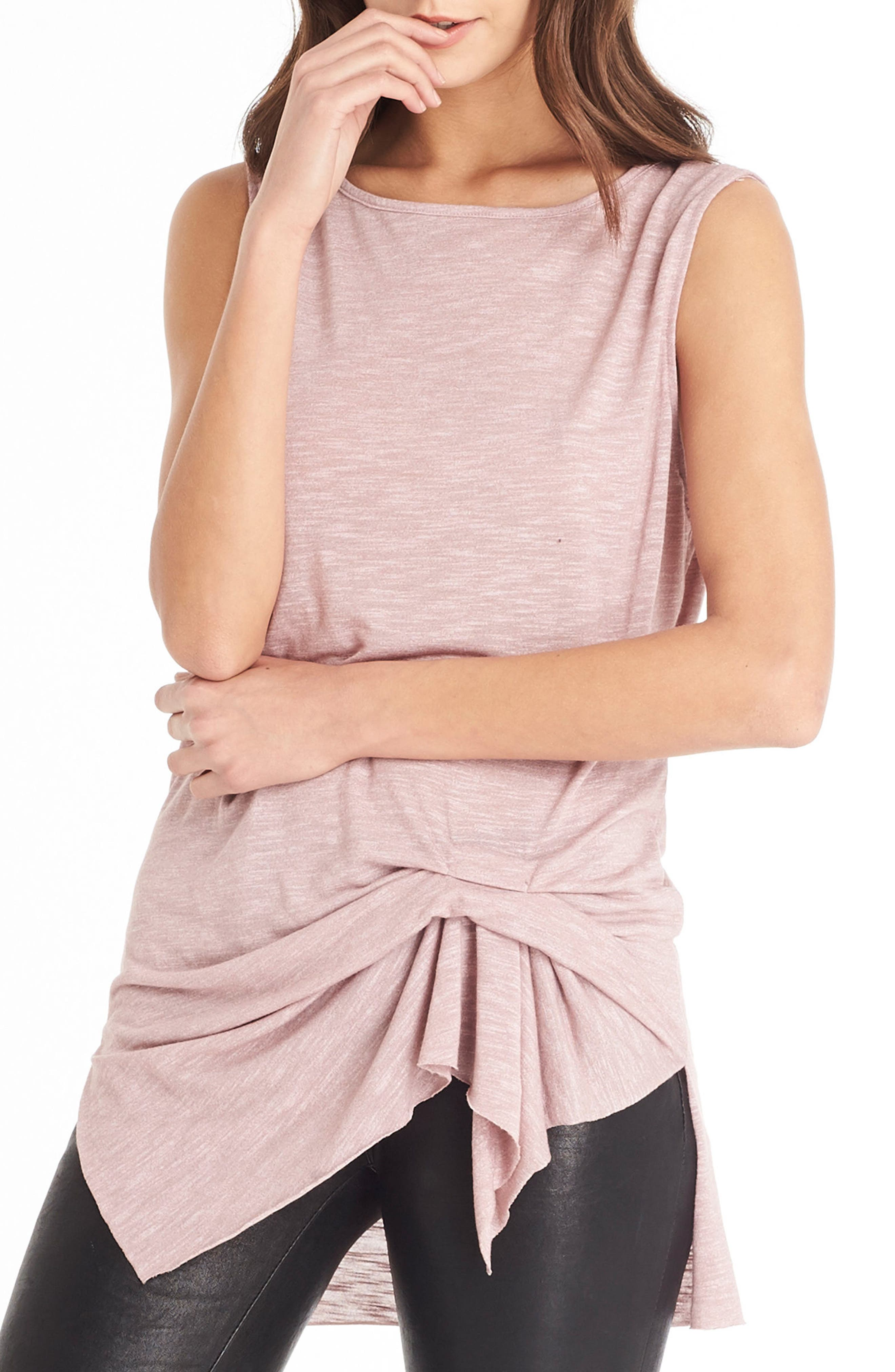 Alternate Image 3  - Michael Stars Pleat Detail Tank
