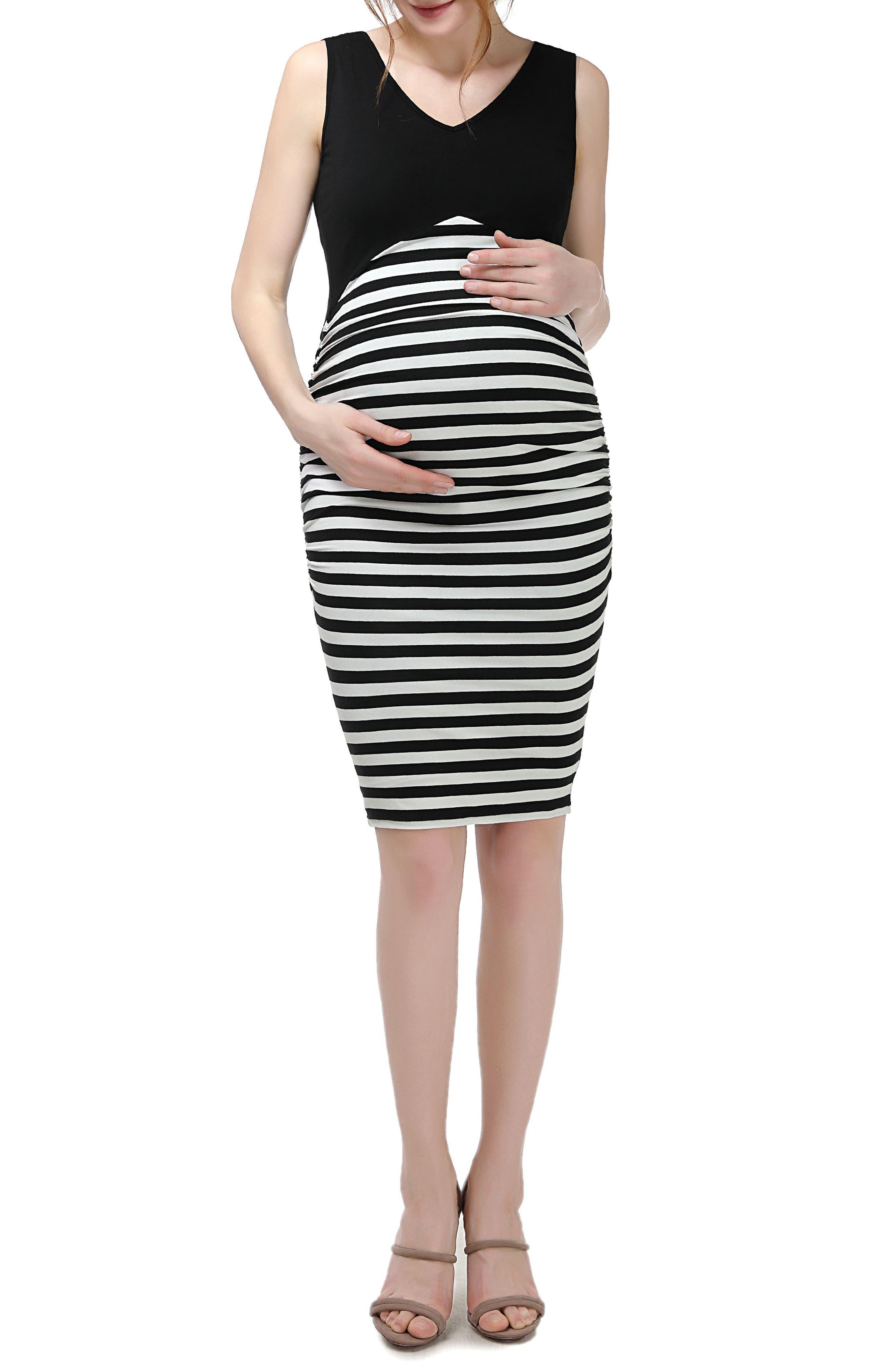 Kimi and Kai Rizza Maternity Body-Con Dress