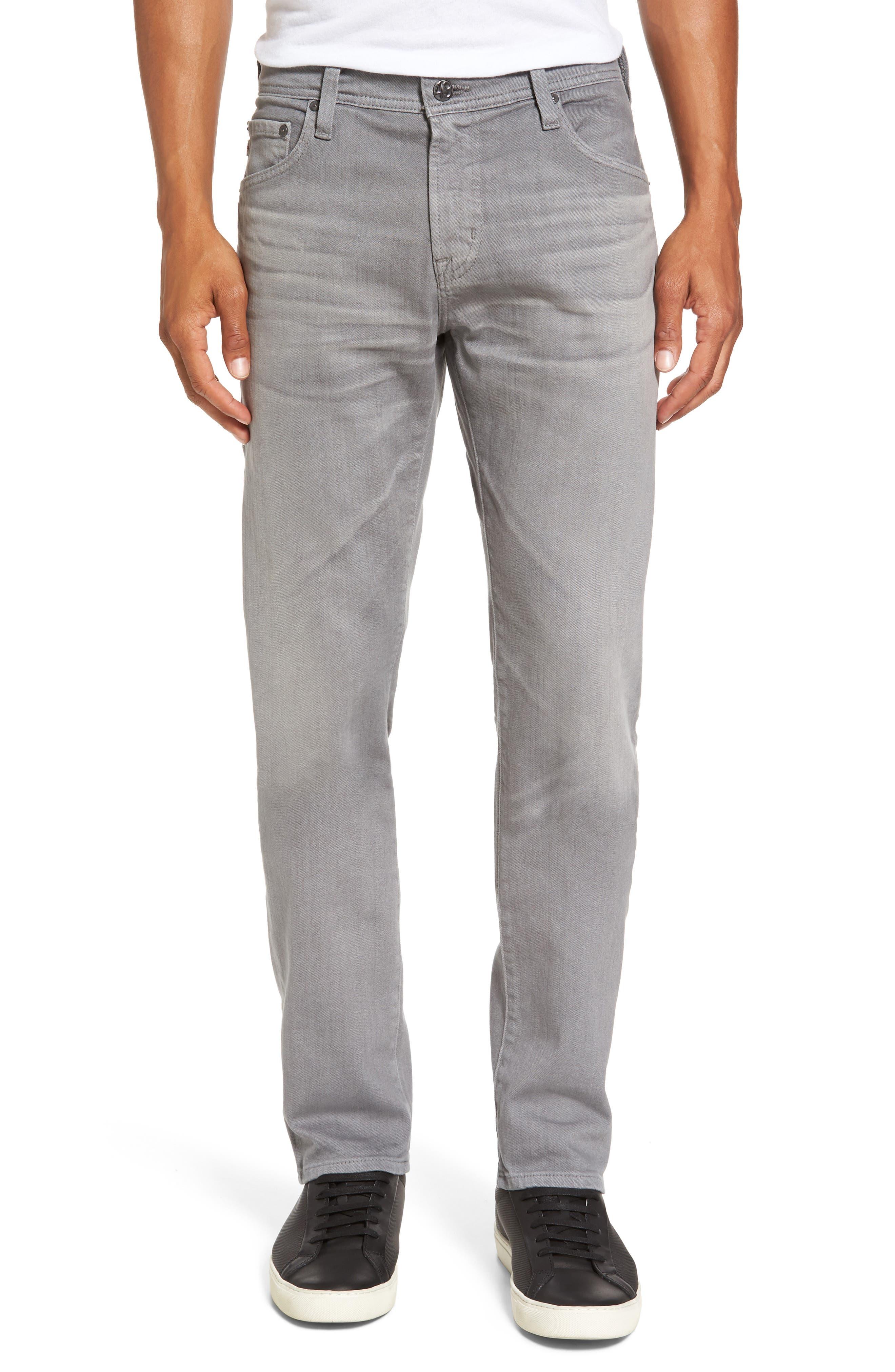 PAIGE Transcend - Lennox Slim Fit Jeans (Argent Grey)