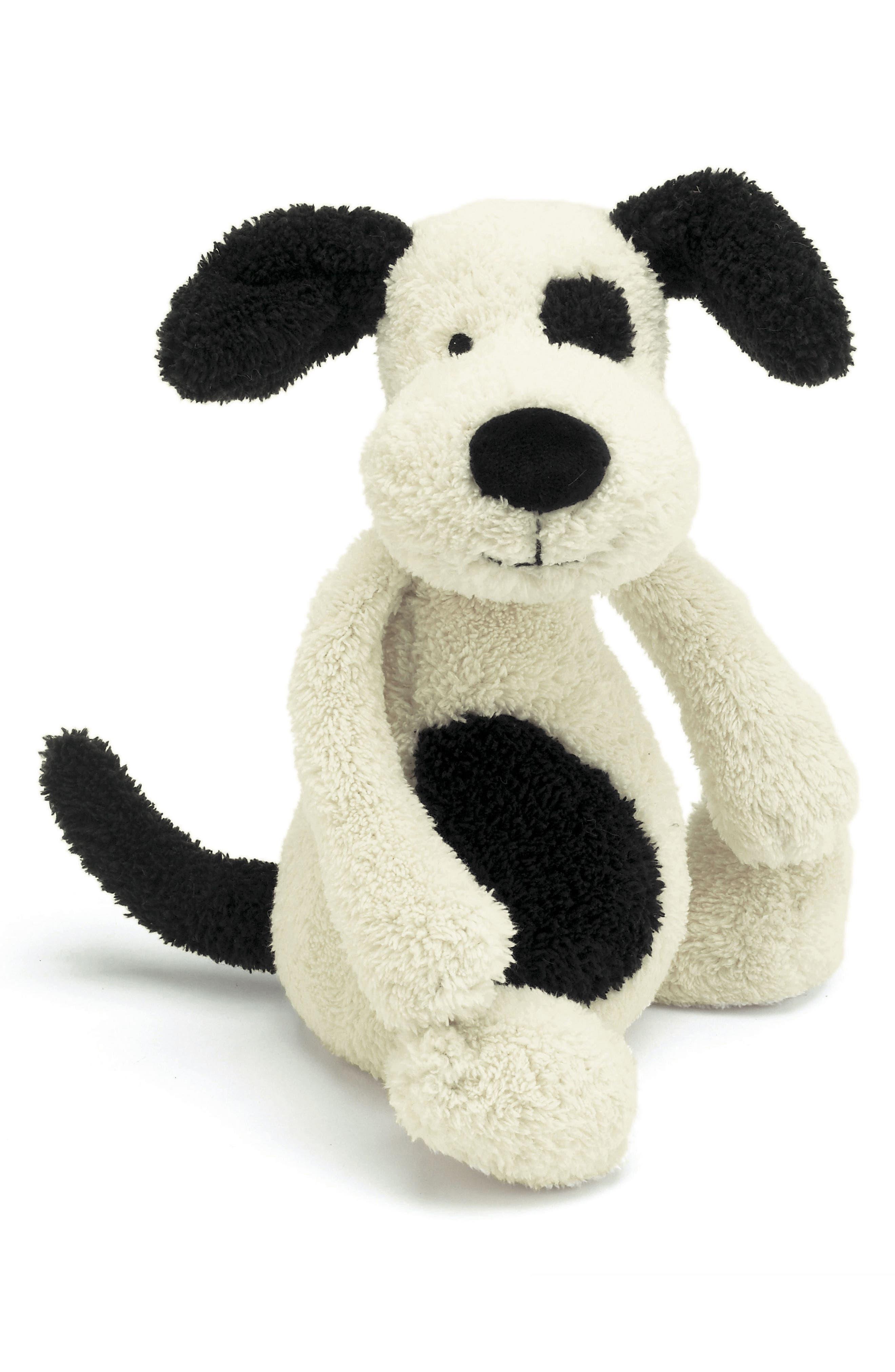 'Large Bashful Puppy' Stuffed Animal,                         Main,                         color, Ivory