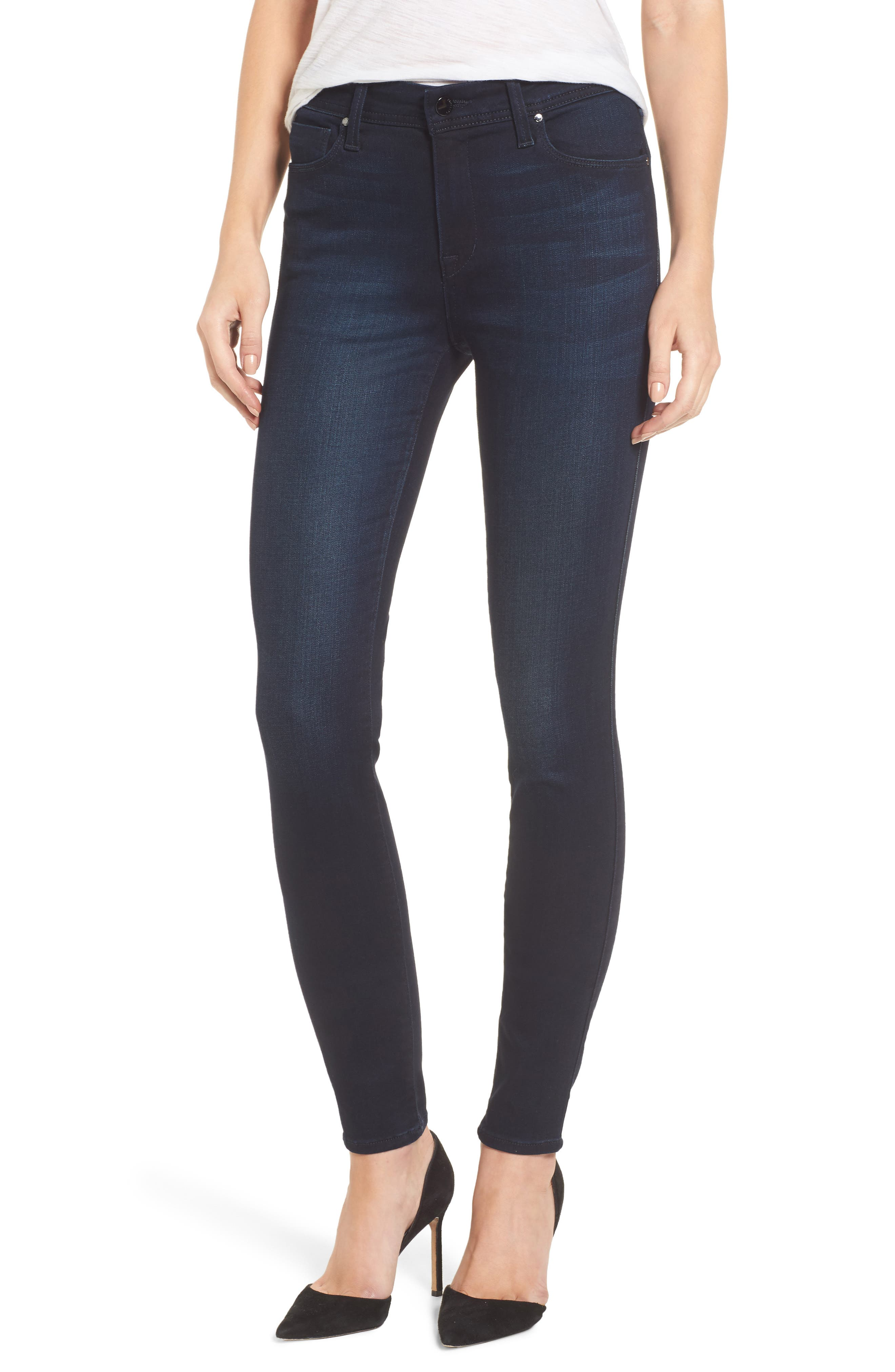 Fidelity Jeans Belvedere Skinny Jeans,                             Main thumbnail 1, color,                             Sapphire