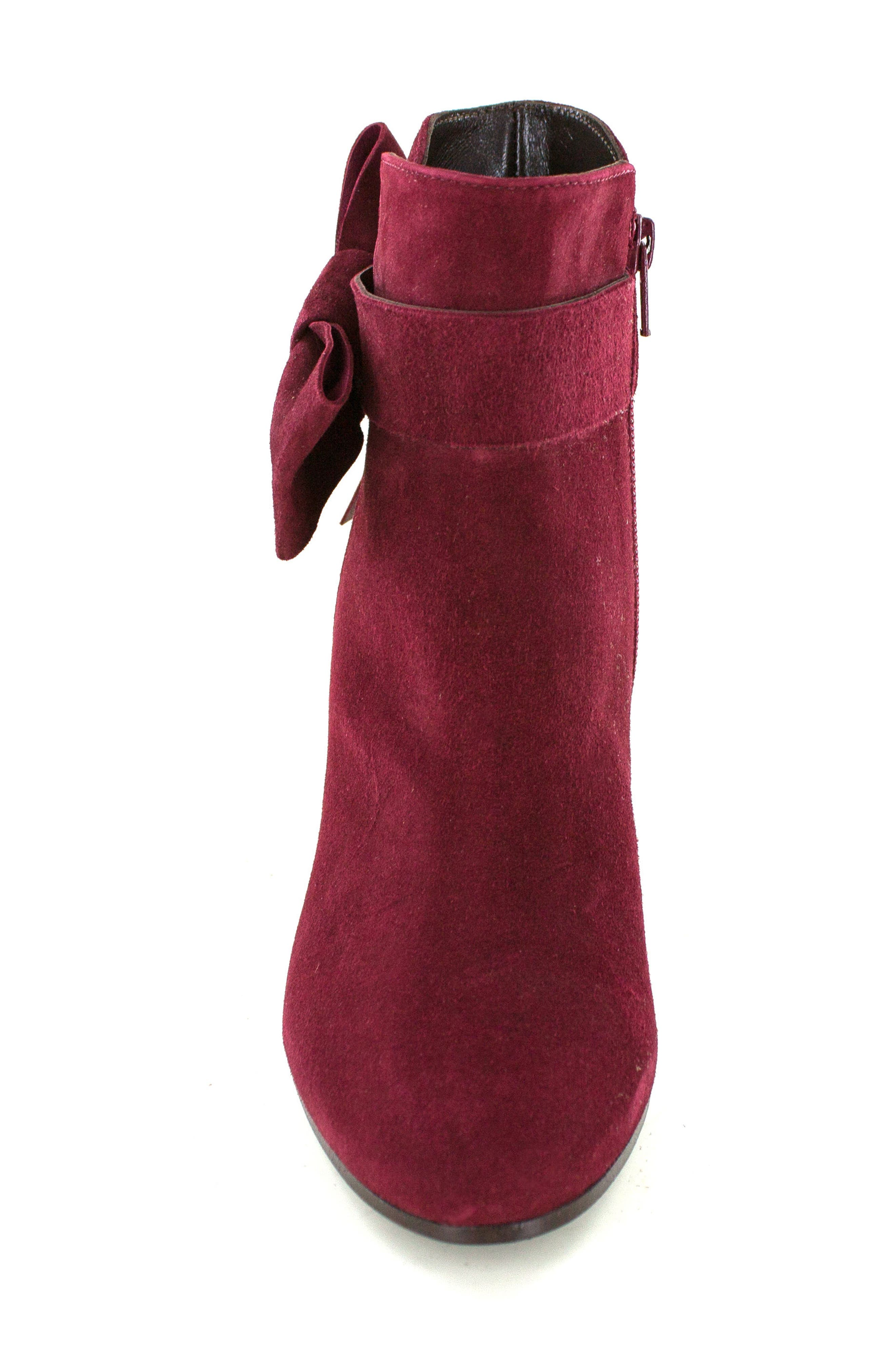 Stevie Bootie,                             Alternate thumbnail 4, color,                             Burgundy Suede