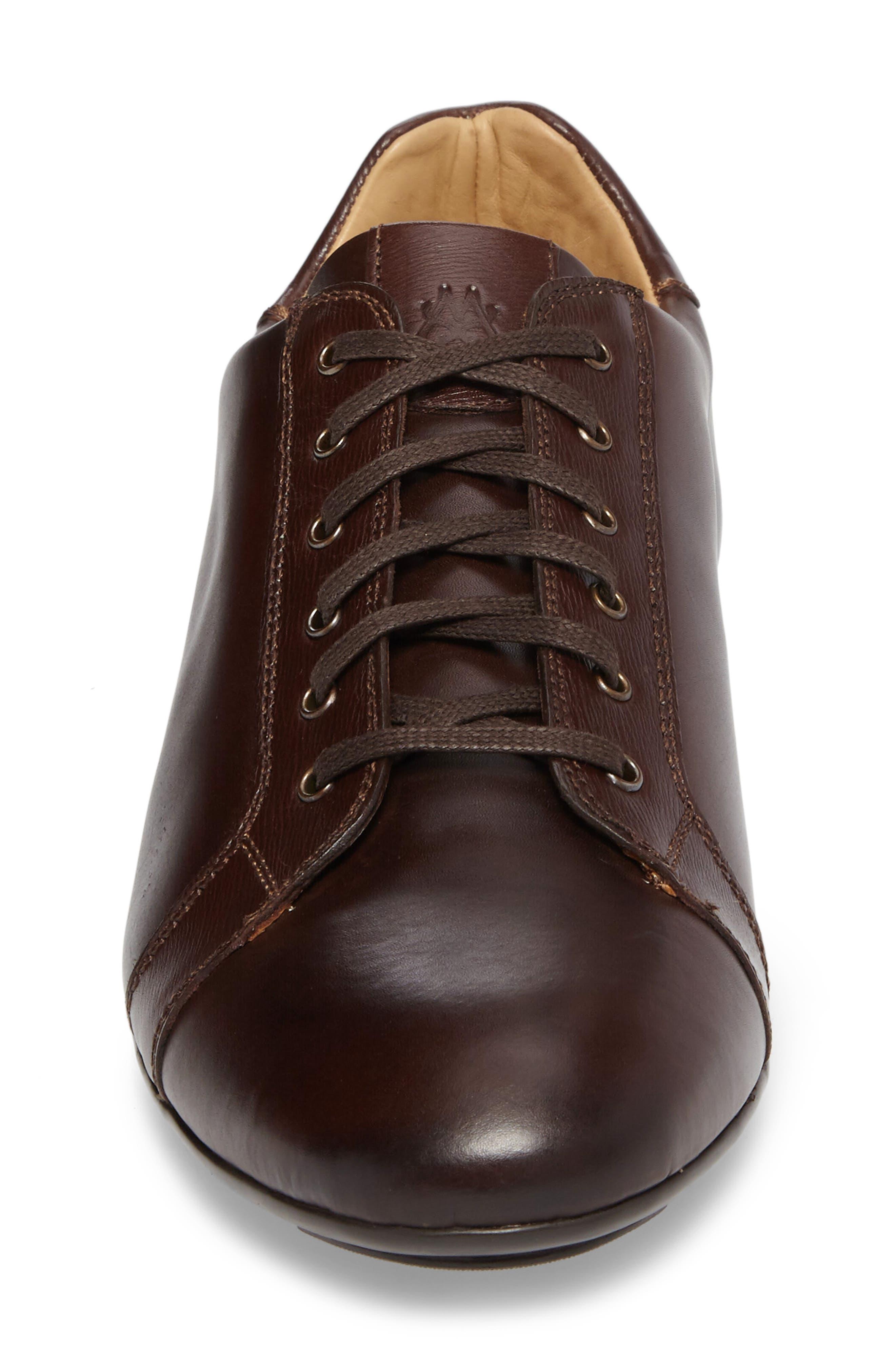 Ubrique Sneaker,                             Alternate thumbnail 4, color,                             Brown Multi Leather