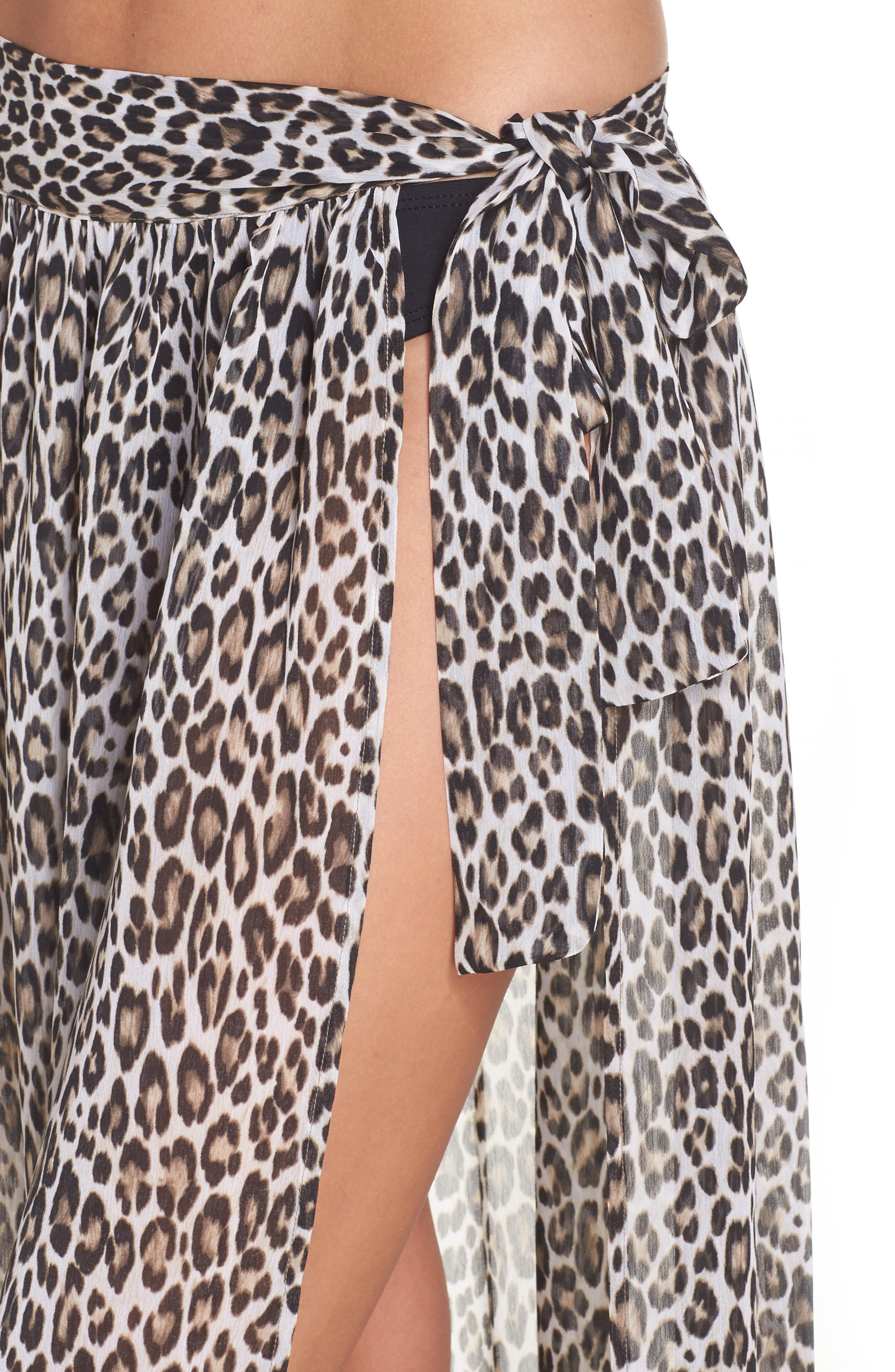 Cat's Meow Cover-Up Maxi Skirt,                             Alternate thumbnail 4, color,                             Handlewood