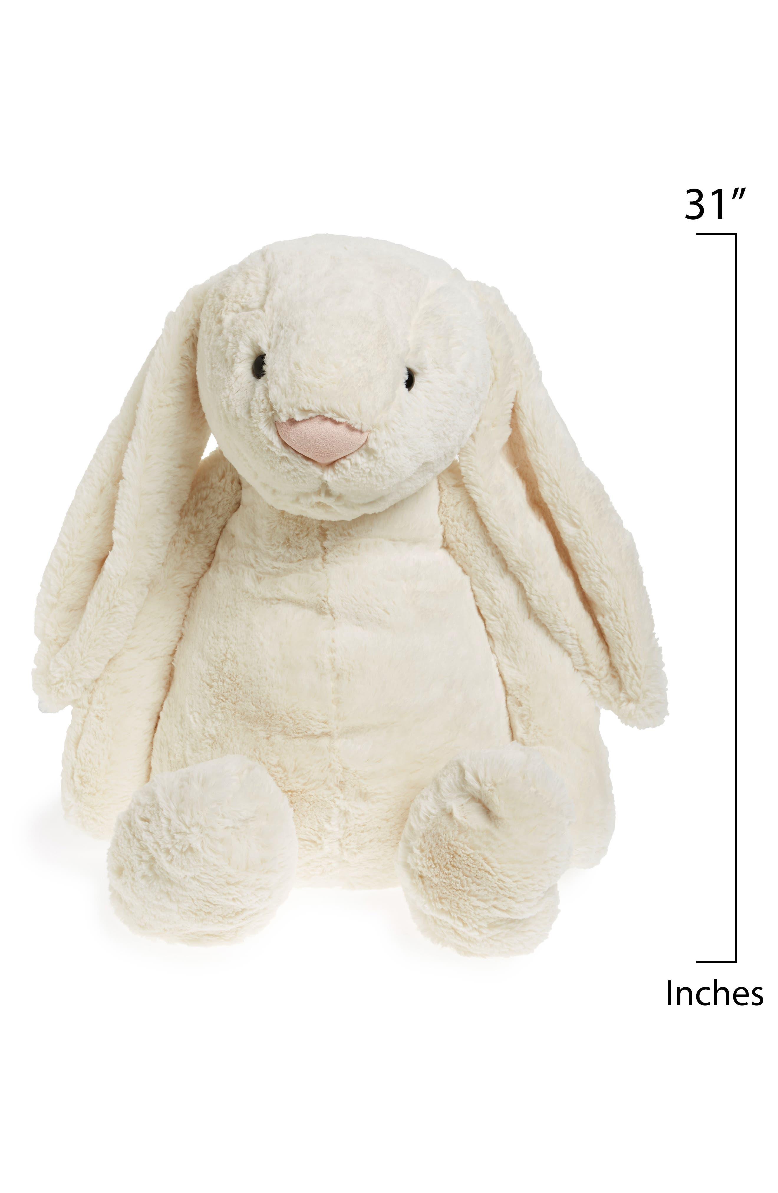 'Really Big Bashful Bunny' Stuffed Animal,                             Alternate thumbnail 2, color,                             Cream