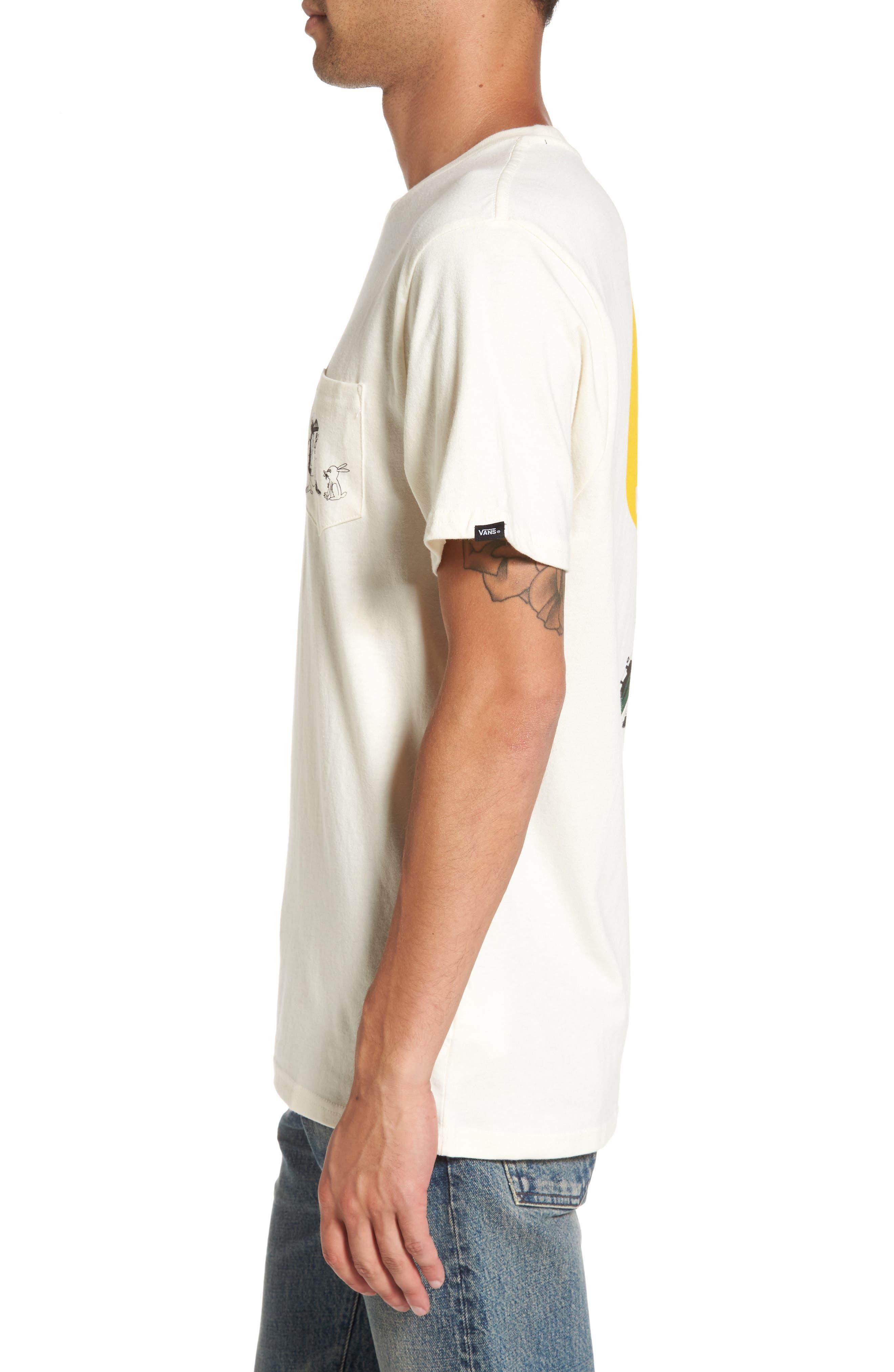 Alternate Image 3  - Vans x Yusuke Hanai Outdoors Graphic Pocket T-Shirt