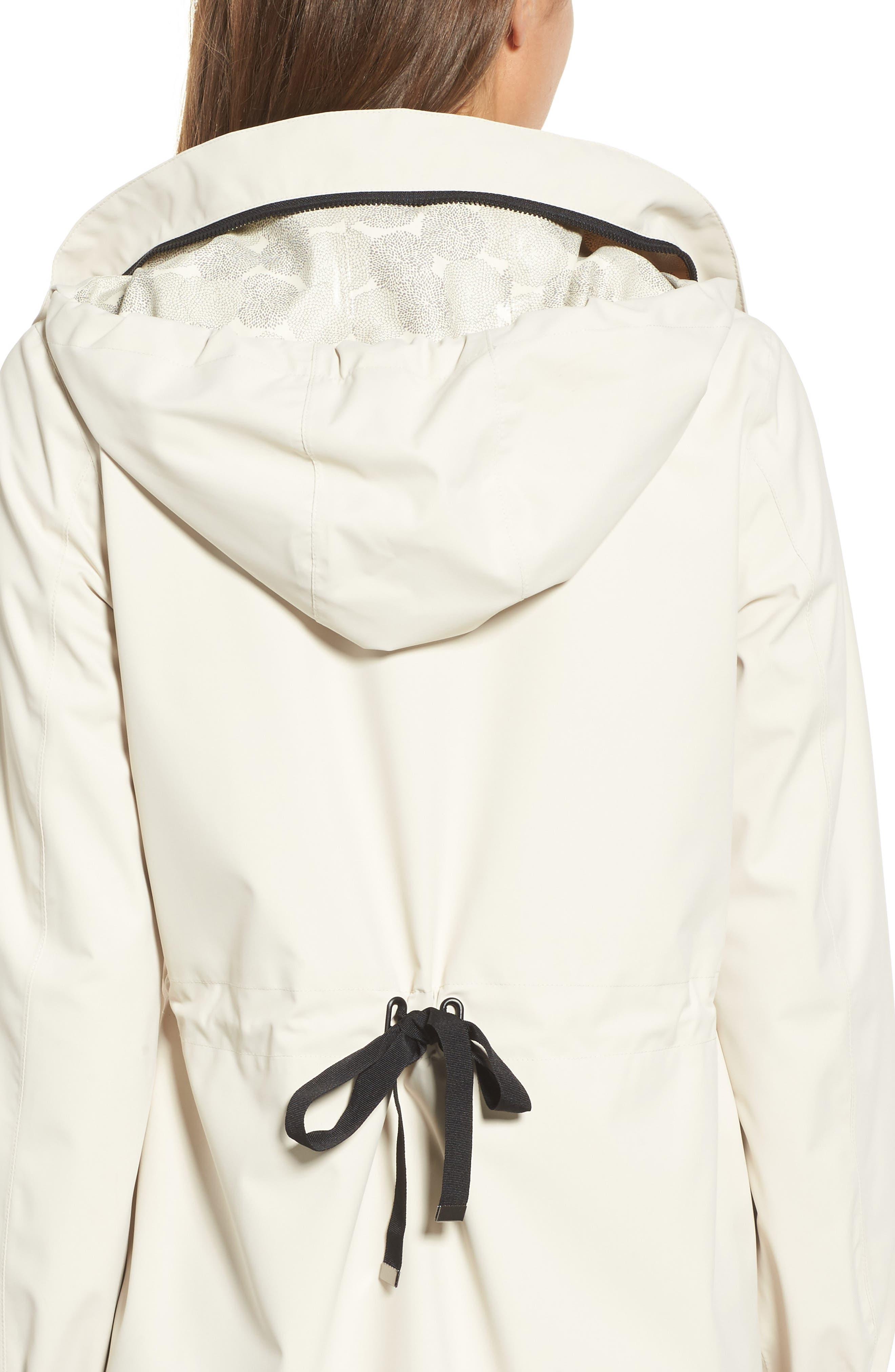 Micro Breathable Anorak Jacket,                             Alternate thumbnail 4, color,                             Beige