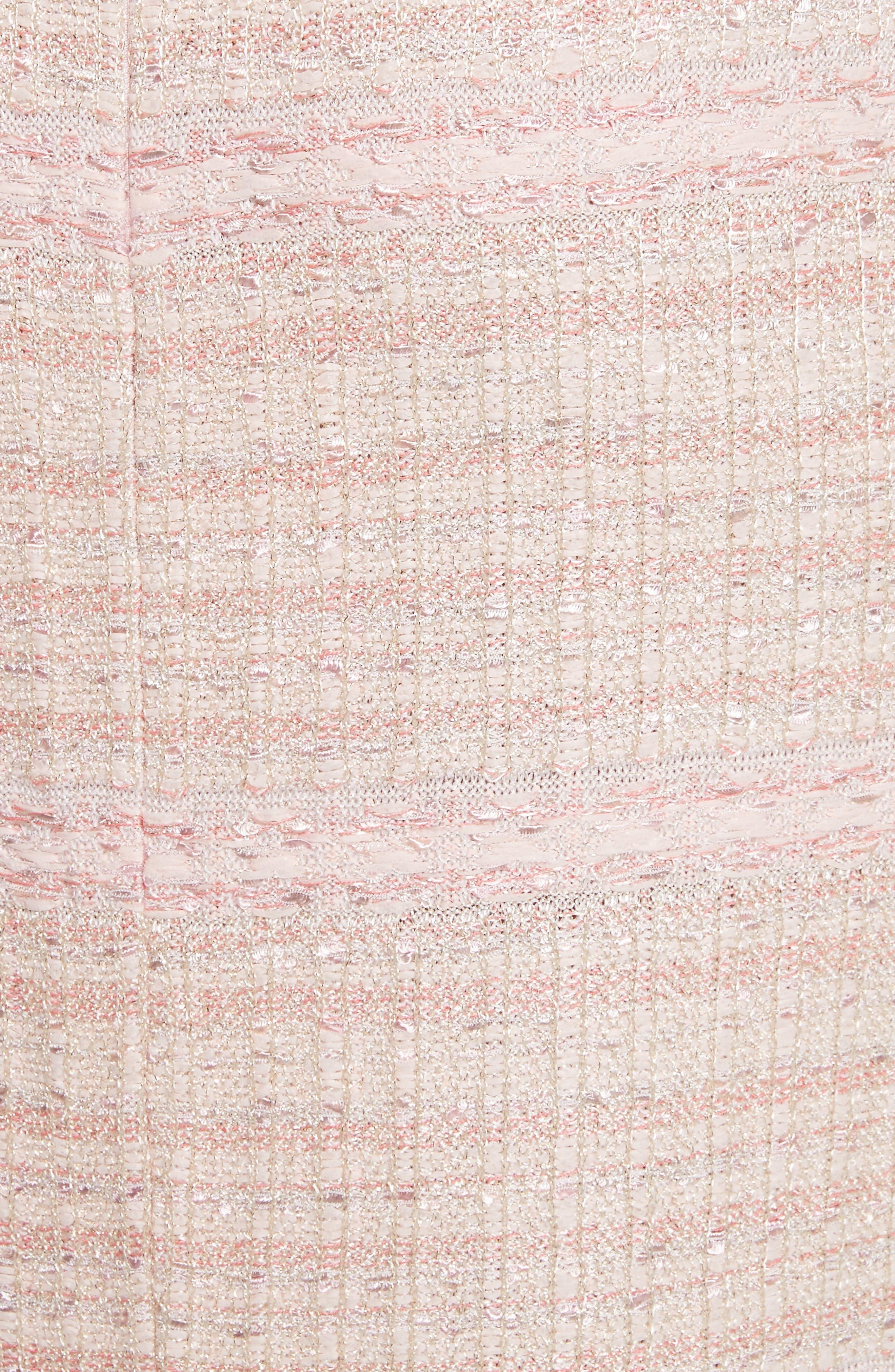 Alternate Image 5  - St. John Collection Guilded Pastel Knit Skirt